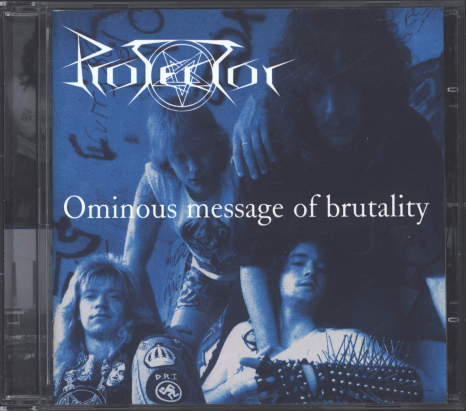 Protector: Ominous Message Of Brutality, CD