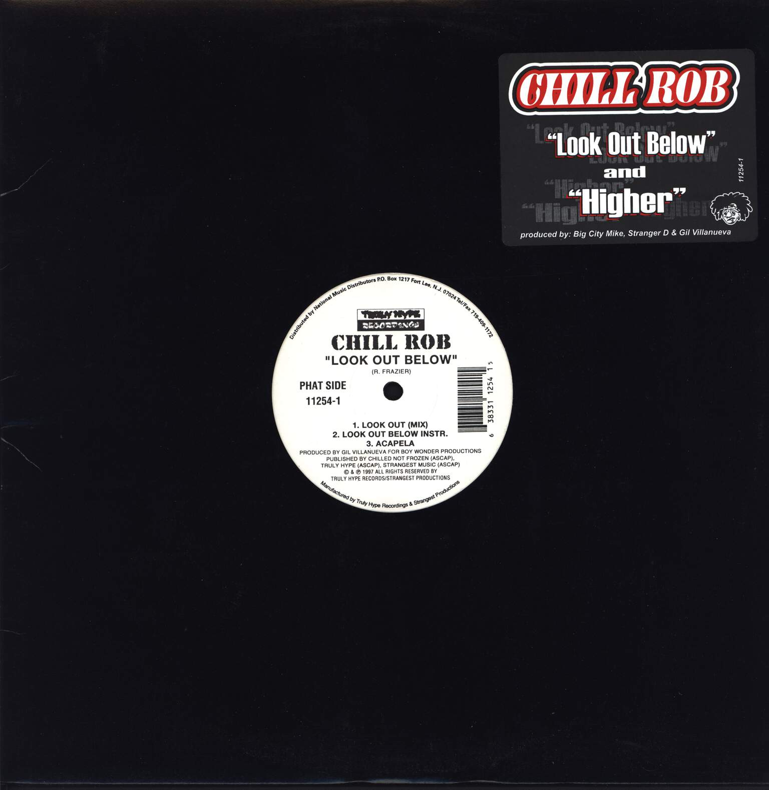 "Chill Rob G: Look Out Below / Higher, 12"" Maxi Single (Vinyl)"