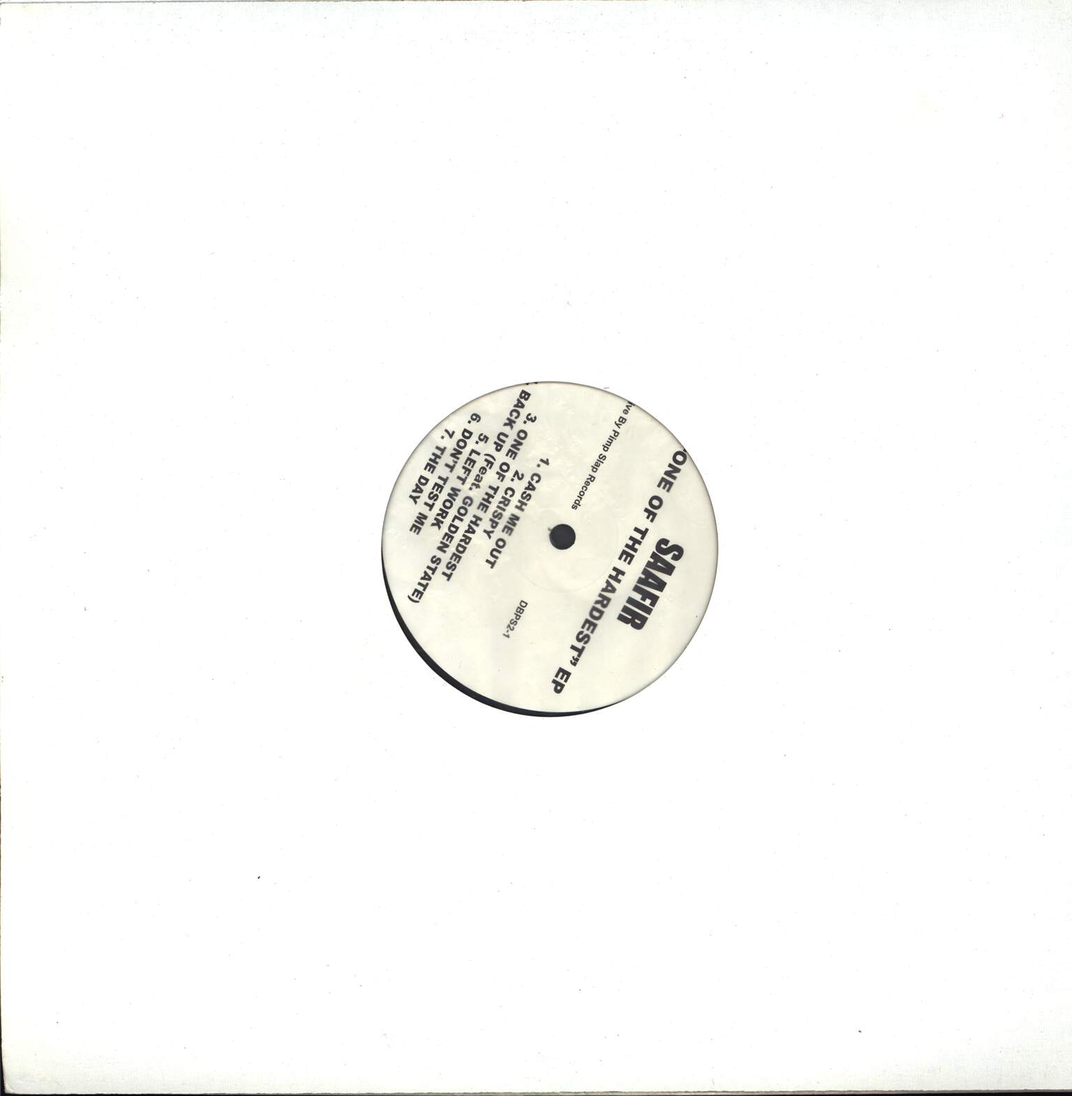 "Saafir: One Of The Hardest EP, 12"" Maxi Single (Vinyl)"