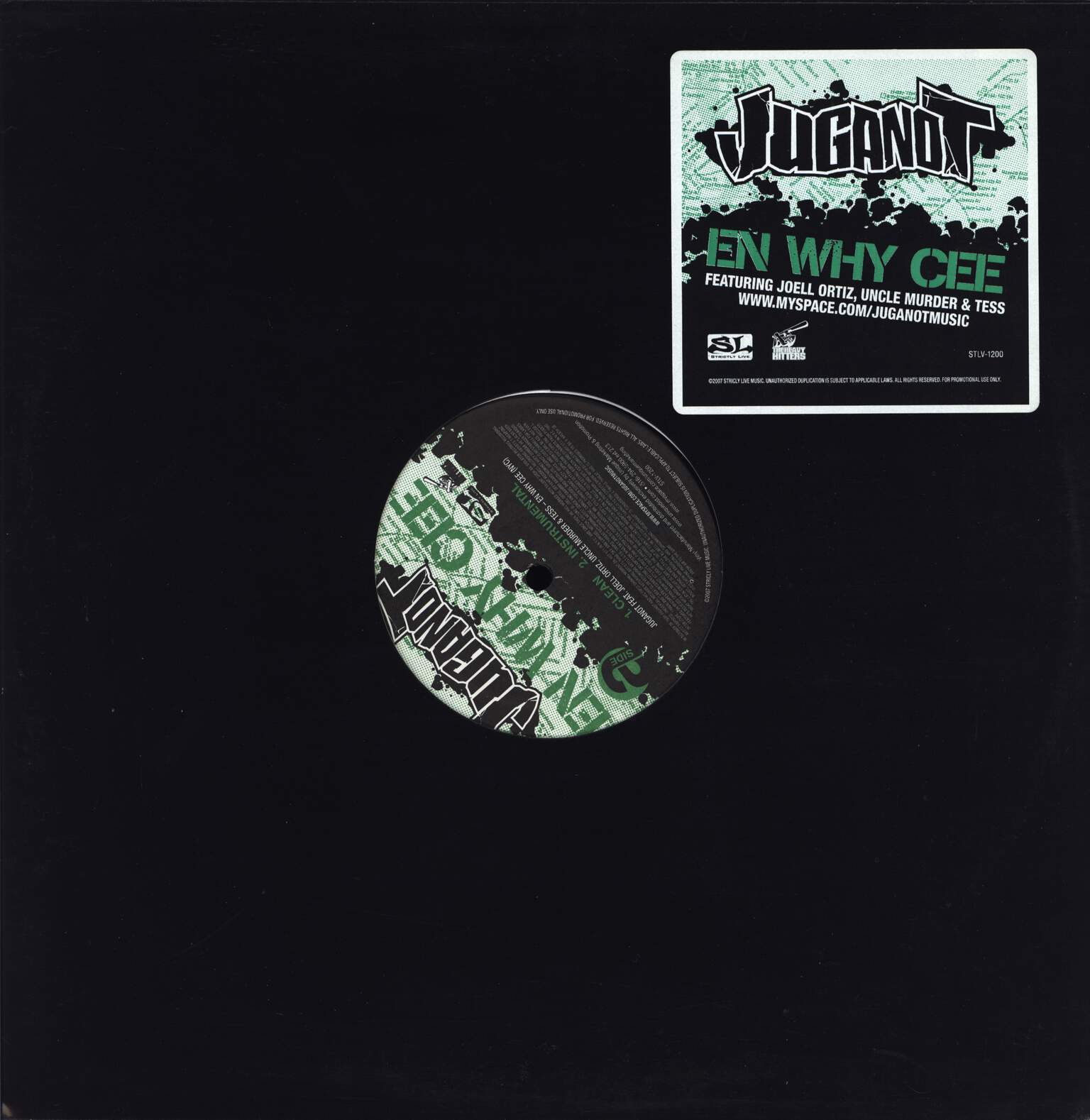 "Juganot: En Why Cee, 12"" Maxi Single (Vinyl)"