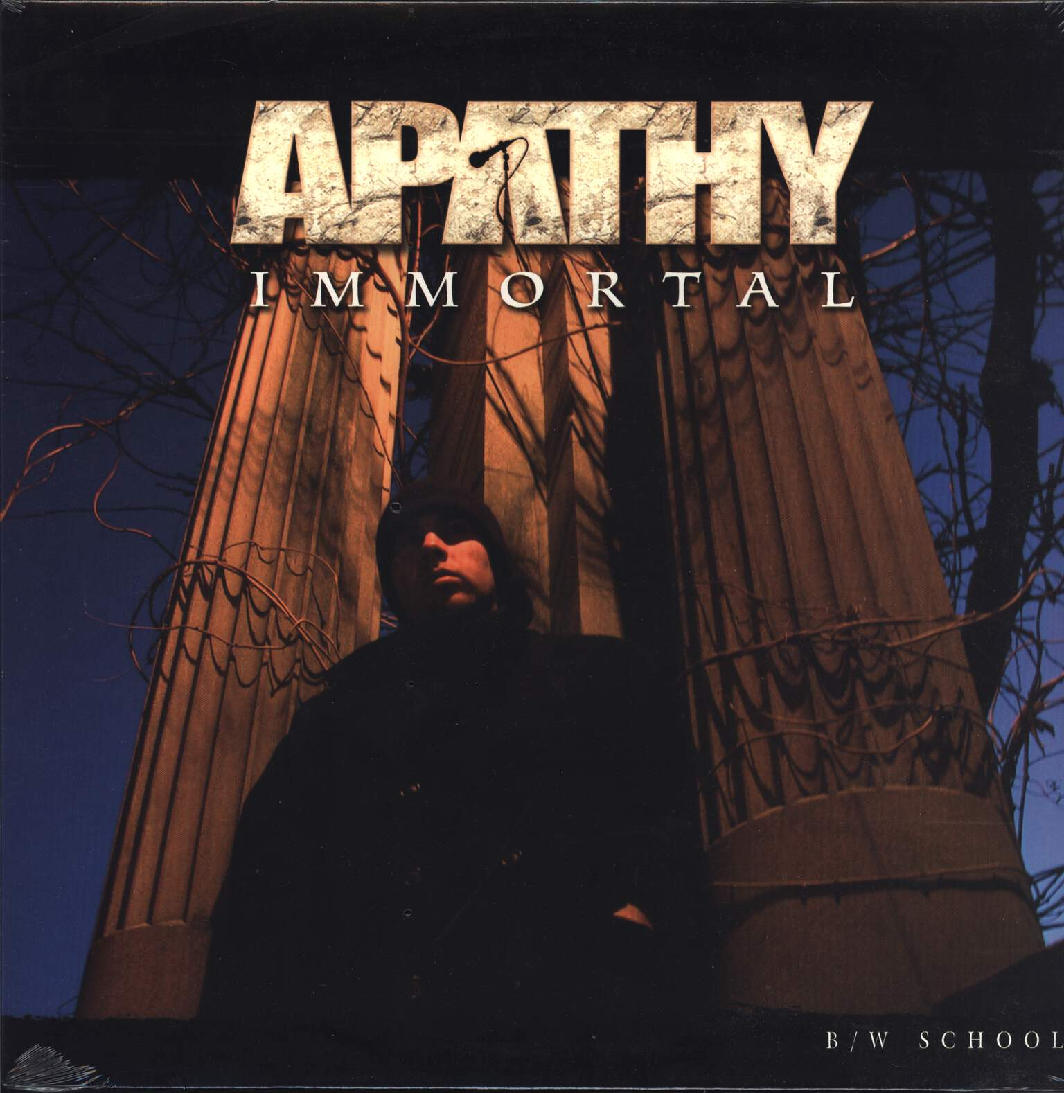 "Apathy: Immortal, 12"" Maxi Single (Vinyl)"