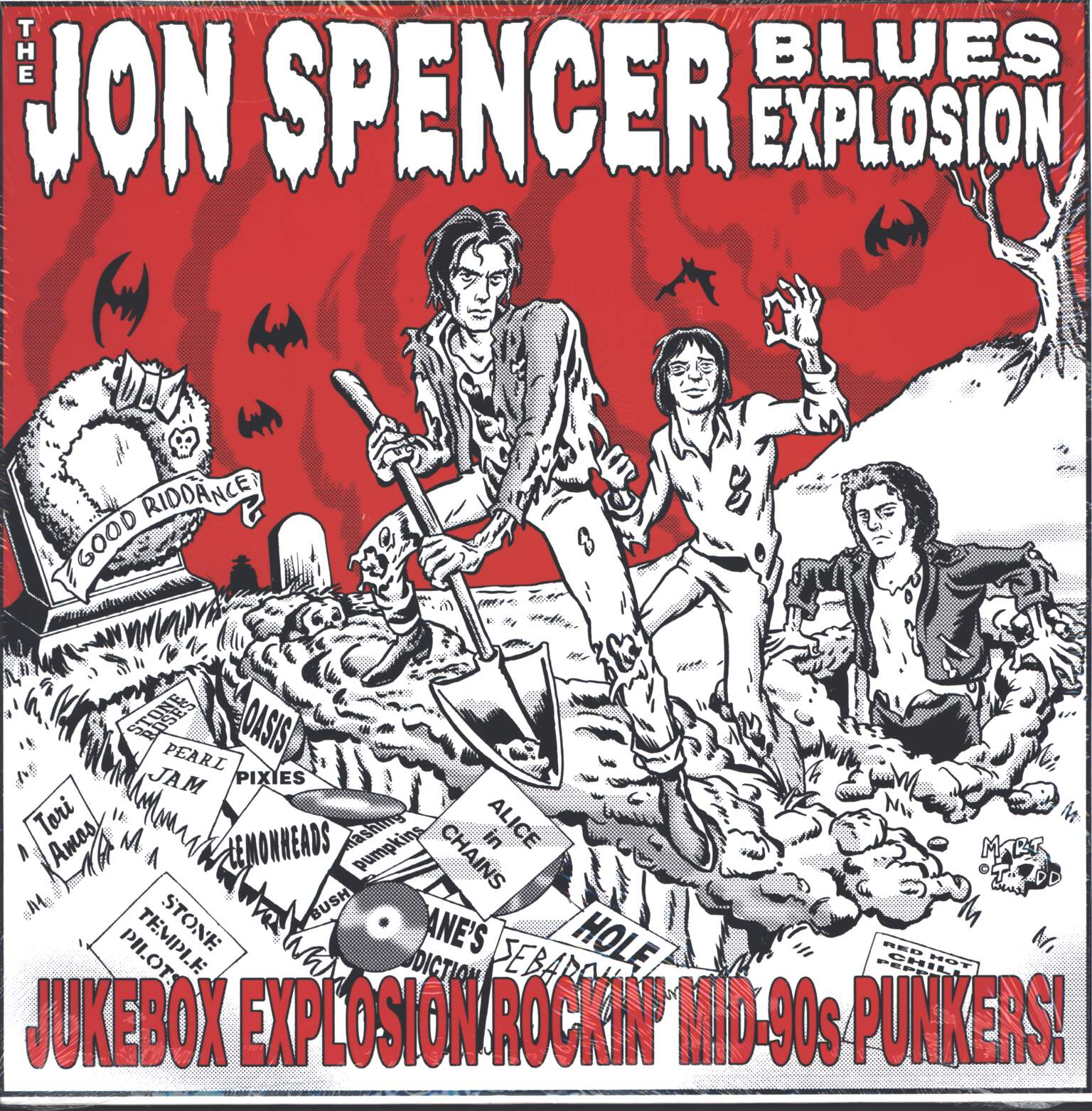 The Jon Spencer Blues Explosion: Jukebox Explosion: Rockin' Mid-90s Punkers!, LP (Vinyl)
