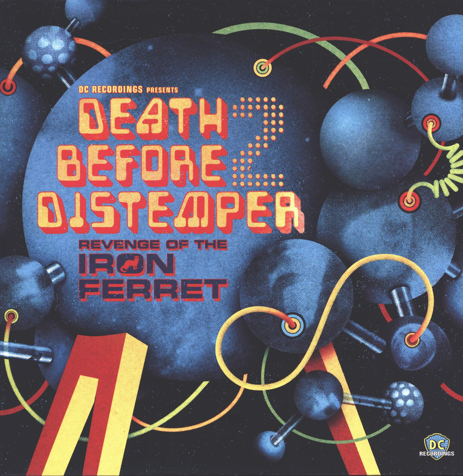 Various: DC Recordings Presents Death Before Distemper 2: Revenge Of The Iron Ferret, LP (Vinyl)