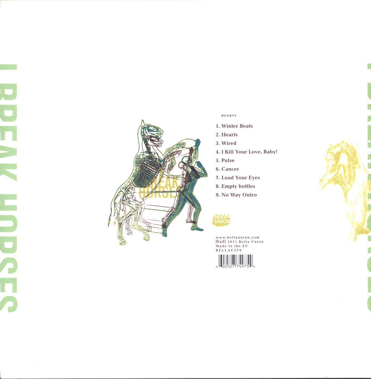I Break Horses: Hearts, LP (Vinyl)