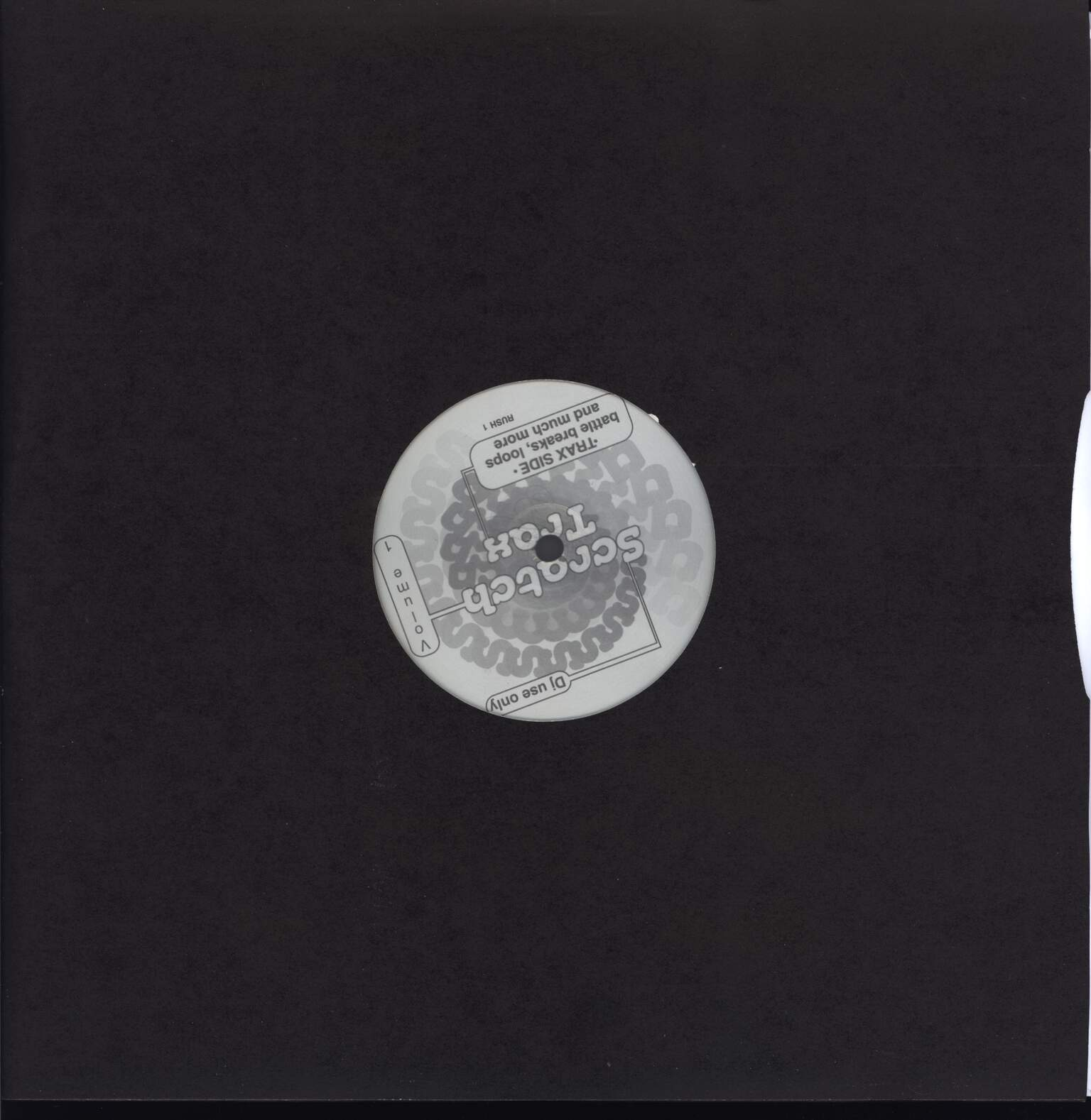 "Unknown Artist: Scratch Trax Vol 1, 12"" Maxi Single (Vinyl)"