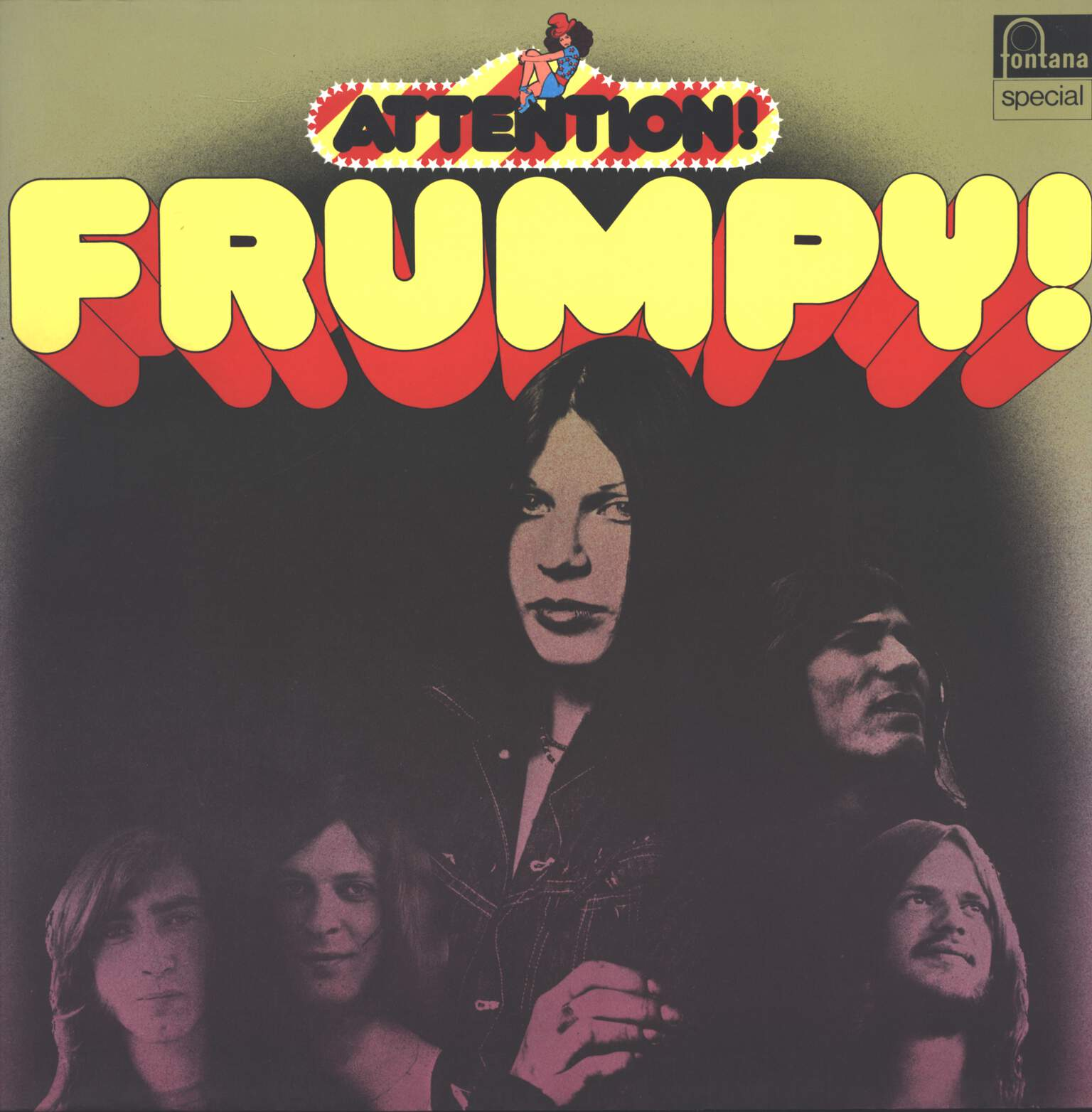 Frumpy: Attention! Frumpy!, LP (Vinyl)