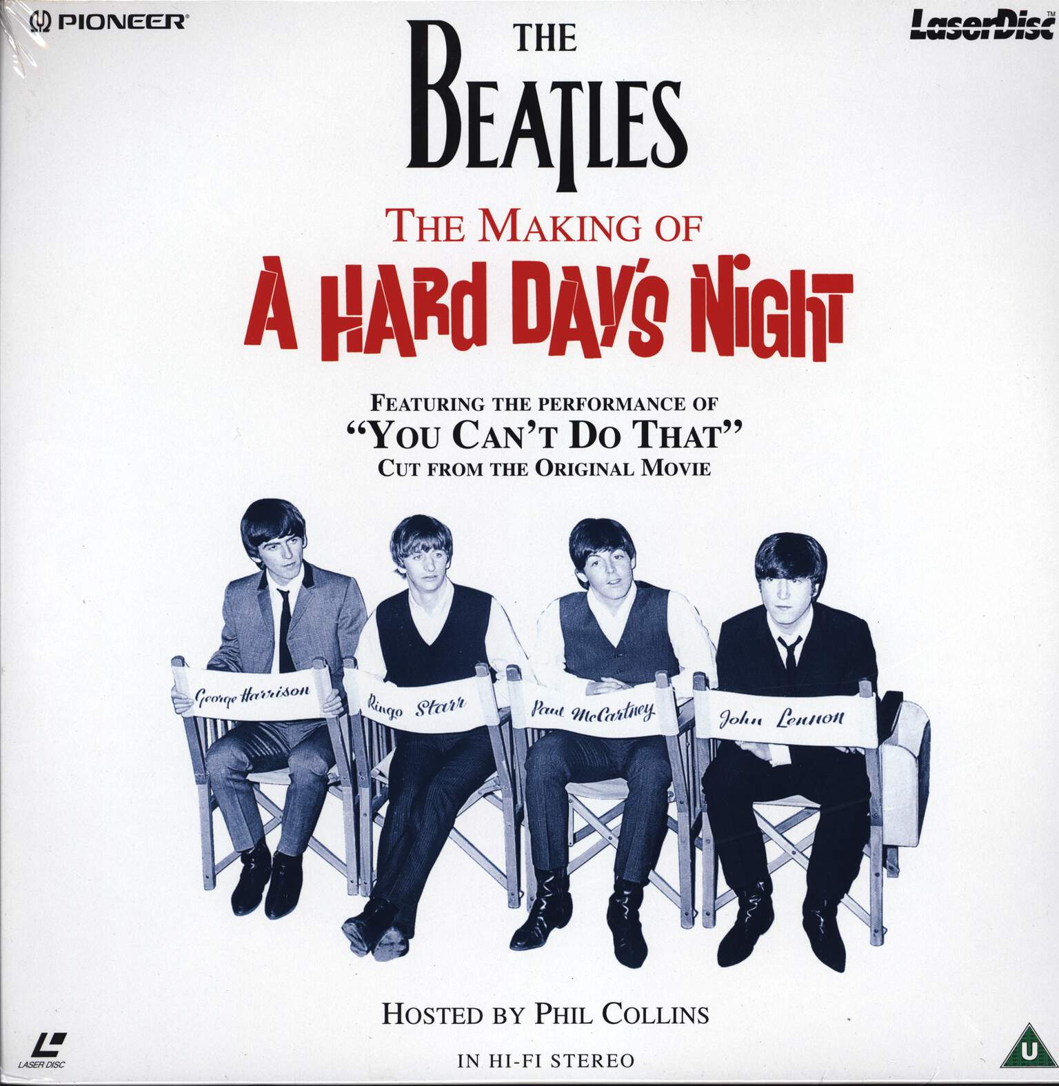 The Beatles: You Can't Do That!: Making of A Hard Day's Night, LaserDisk