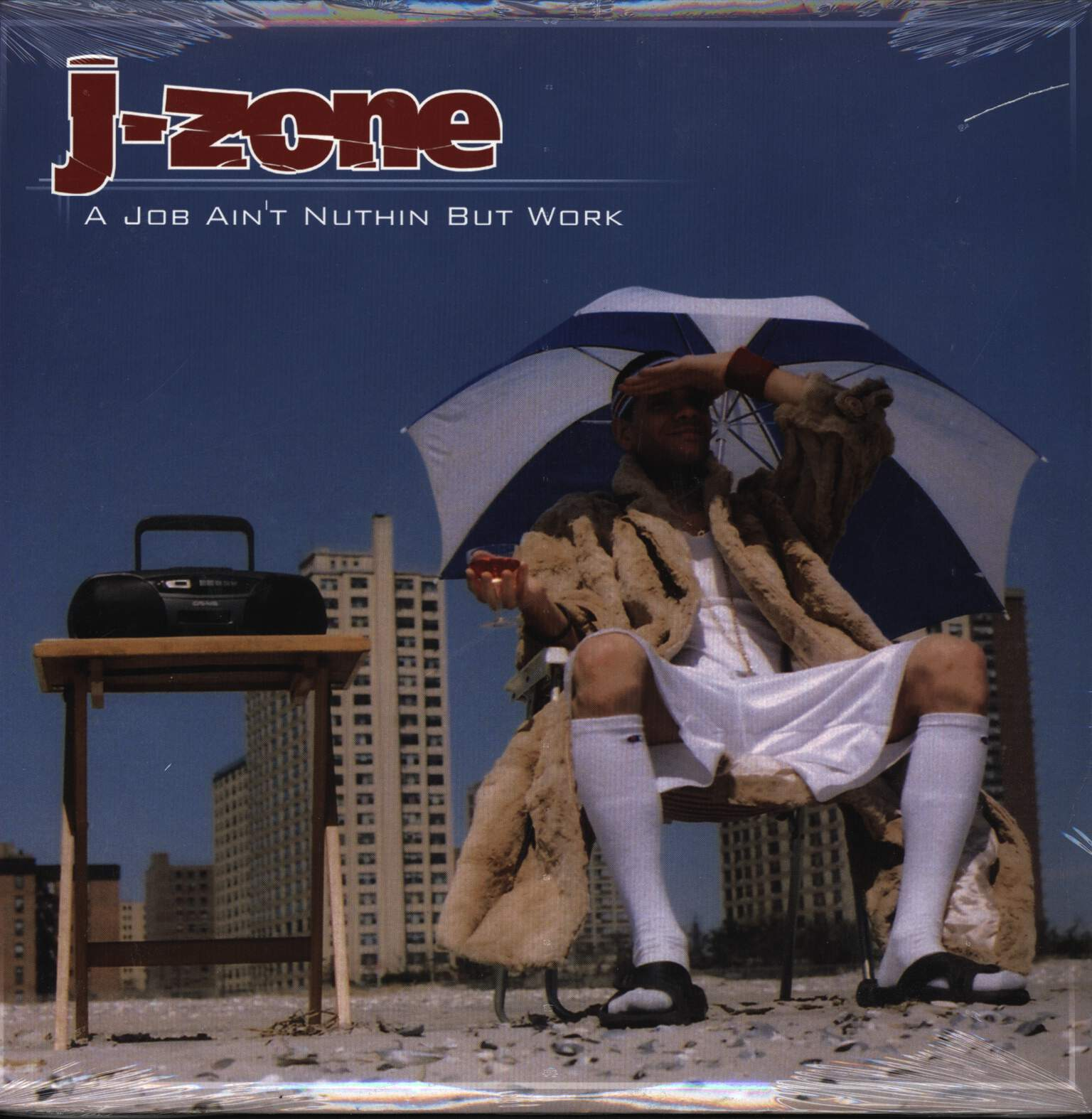 "J-Zone: A Job Ain't Nuthin But Work, 12"" Maxi Single (Vinyl)"