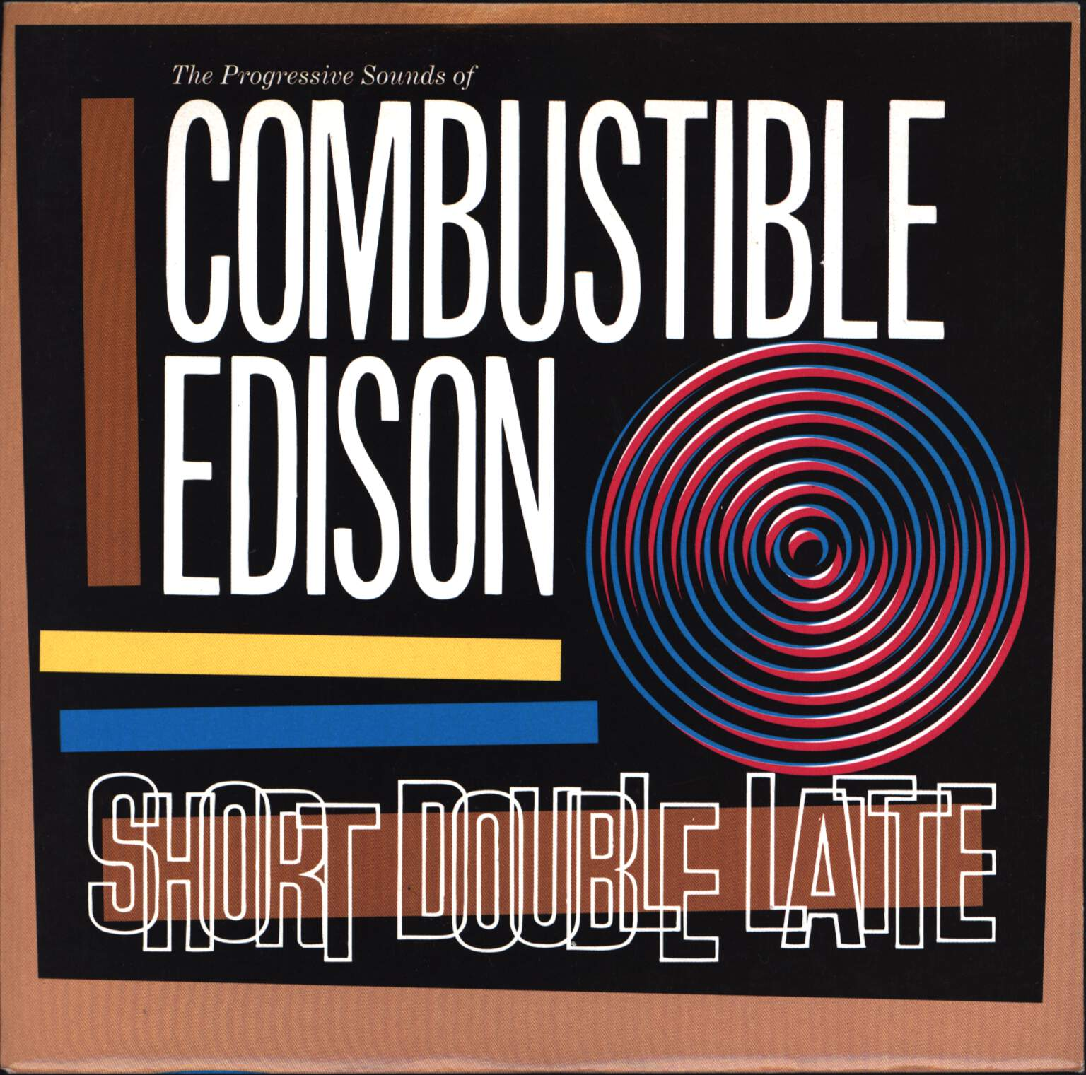 "Combustible Edison: Short Double Latte, 7"" Single (Vinyl)"