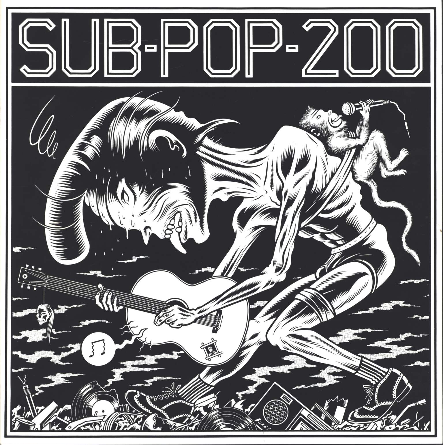 Various: Sub Pop 200, LP (Vinyl)