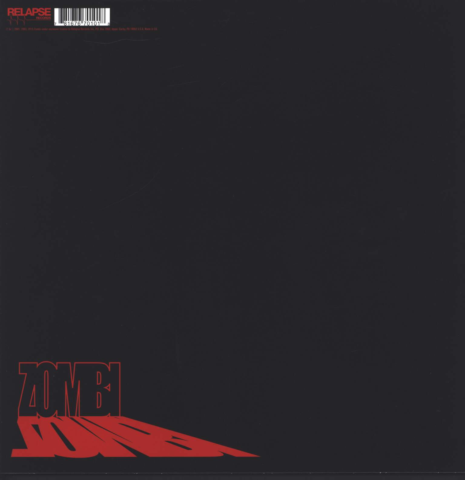 Zombi: The Zombi Anthology, LP (Vinyl)