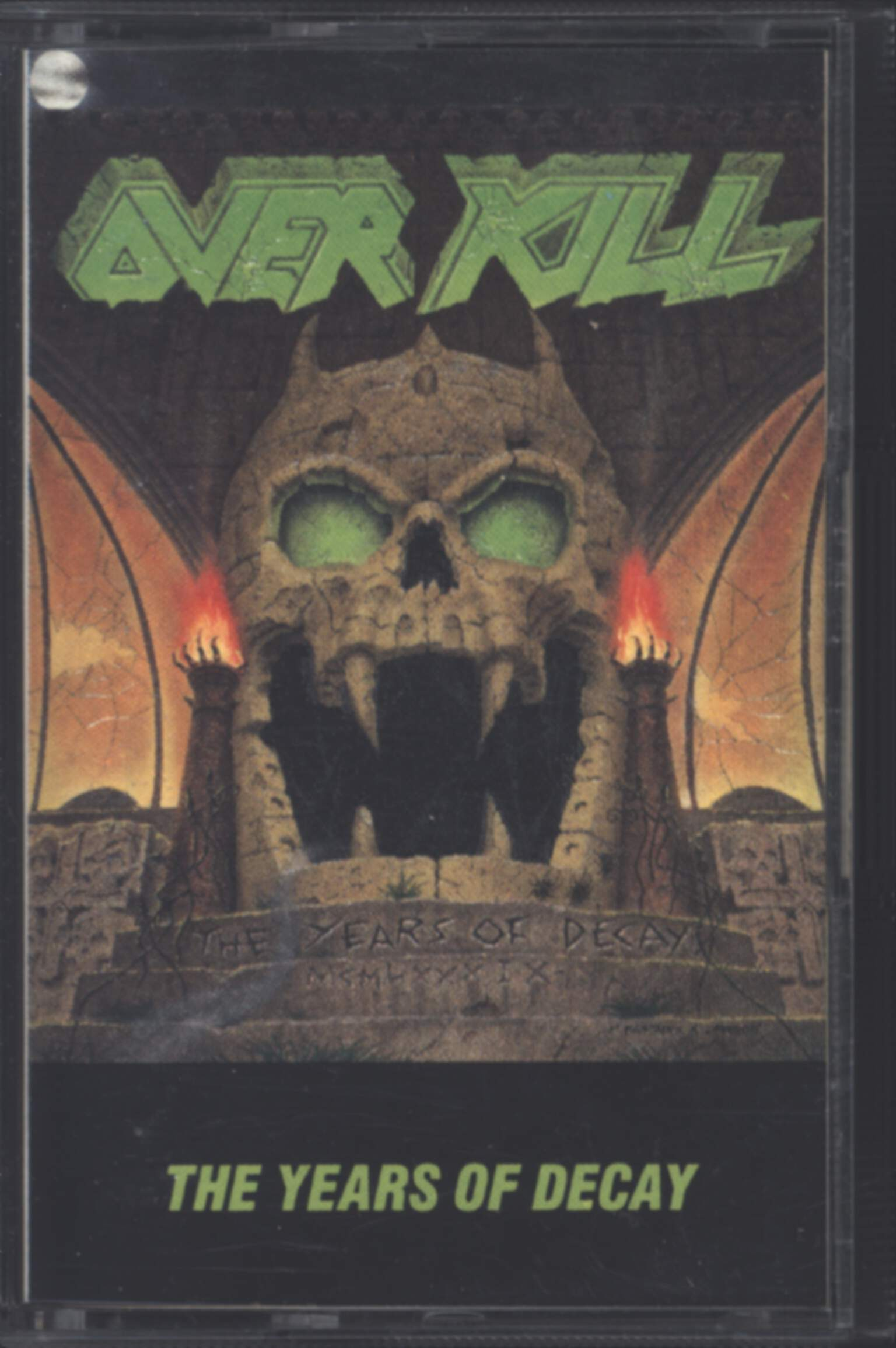Overkill: The Years Of Decay, Compact Cassette