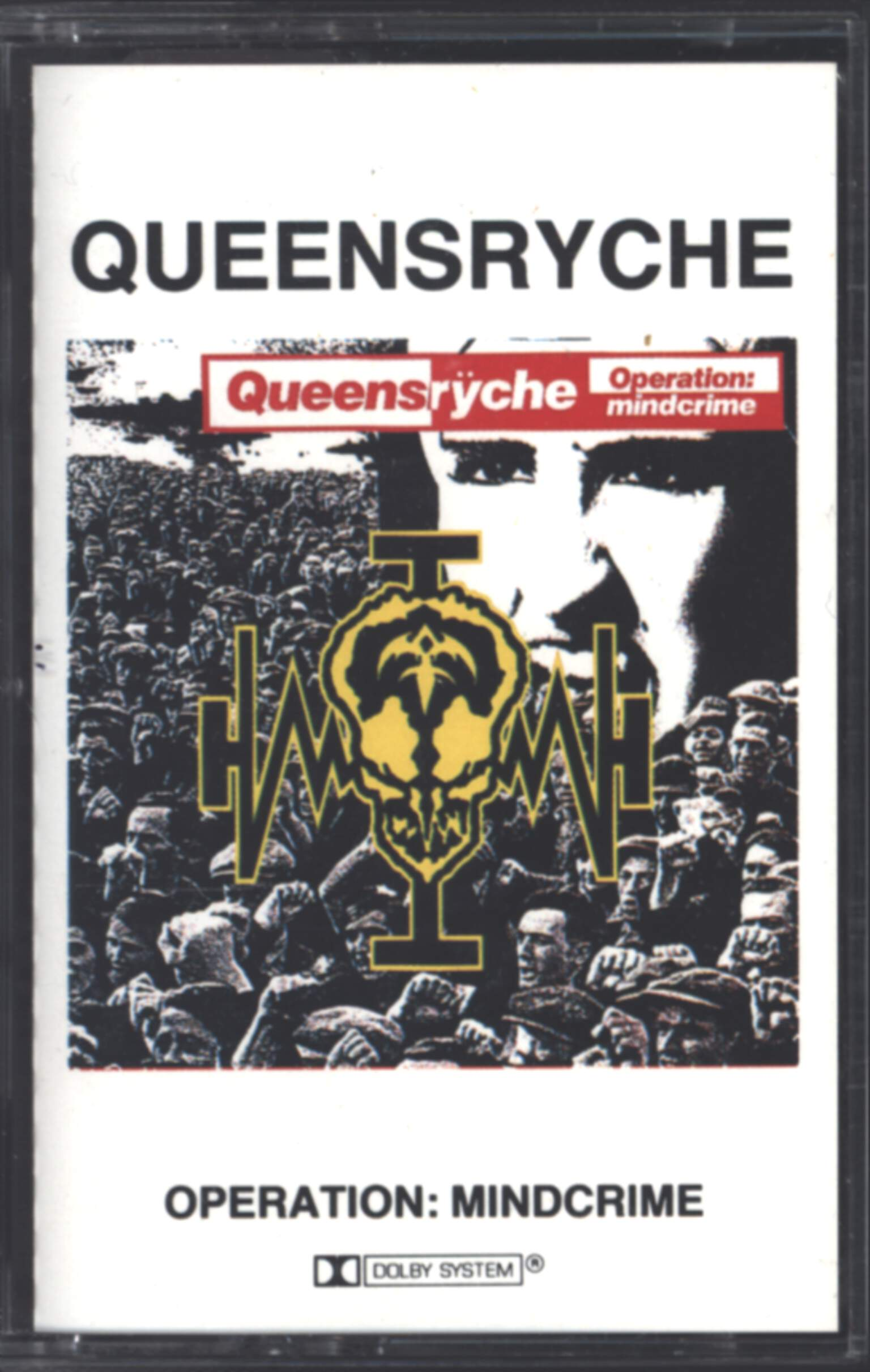 Queensryche: Operation: Mindcrime, Compact Cassette