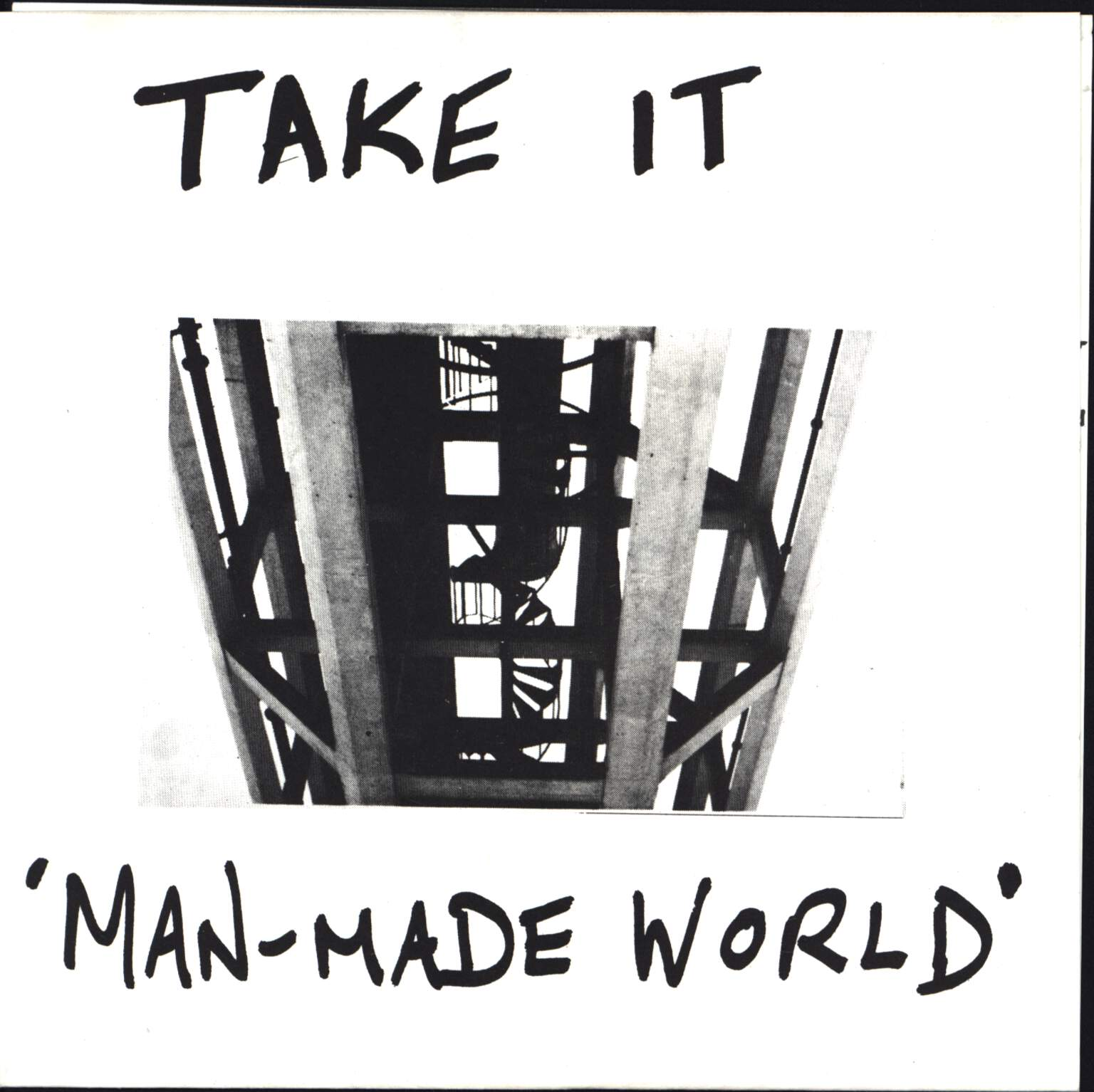 "Take It: Man-Made World, 7"" Single (Vinyl)"