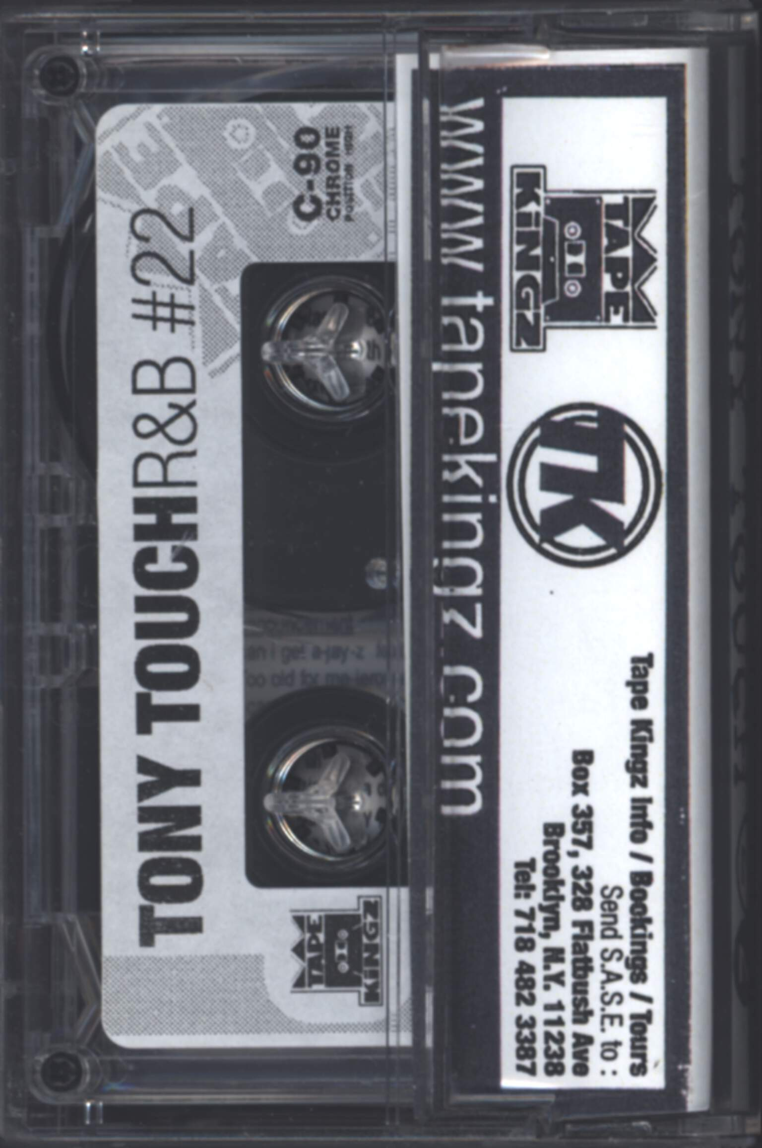 Tony Touch: Can't Stop, Won't Stop - R'n'B 22, Compact Cassette