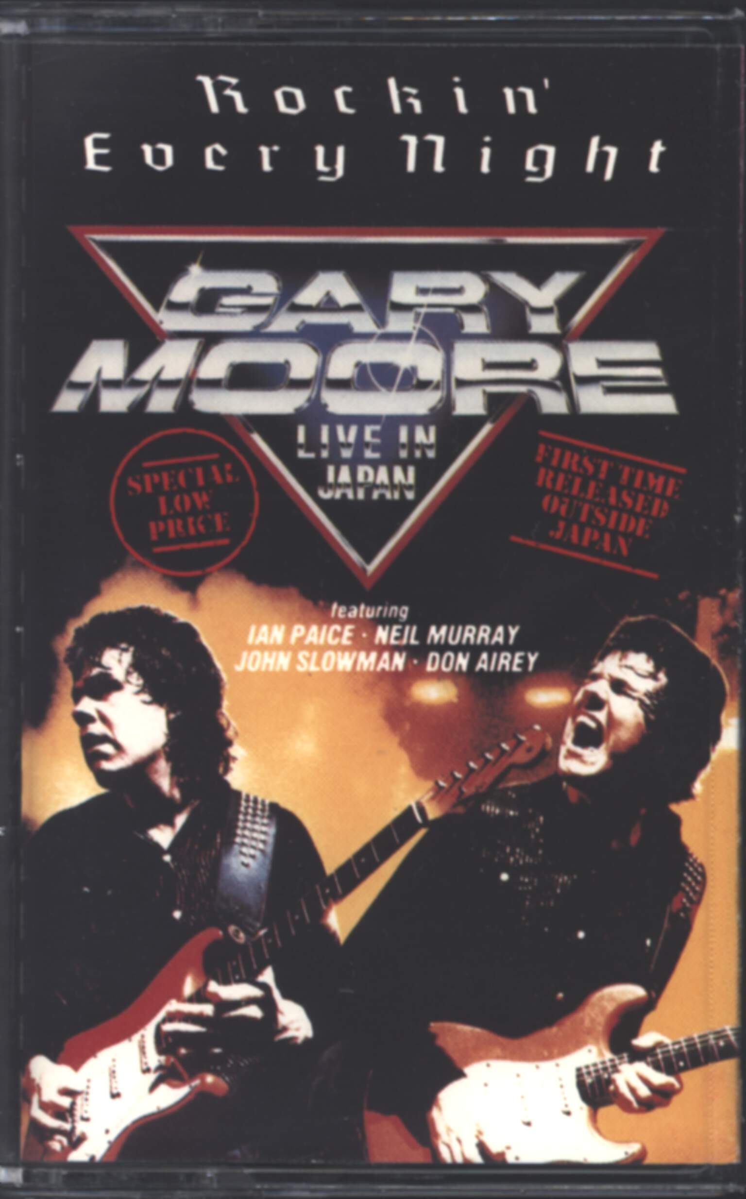 Gary Moore: Rockin' Every Night - Live In Japan, Compact Cassette