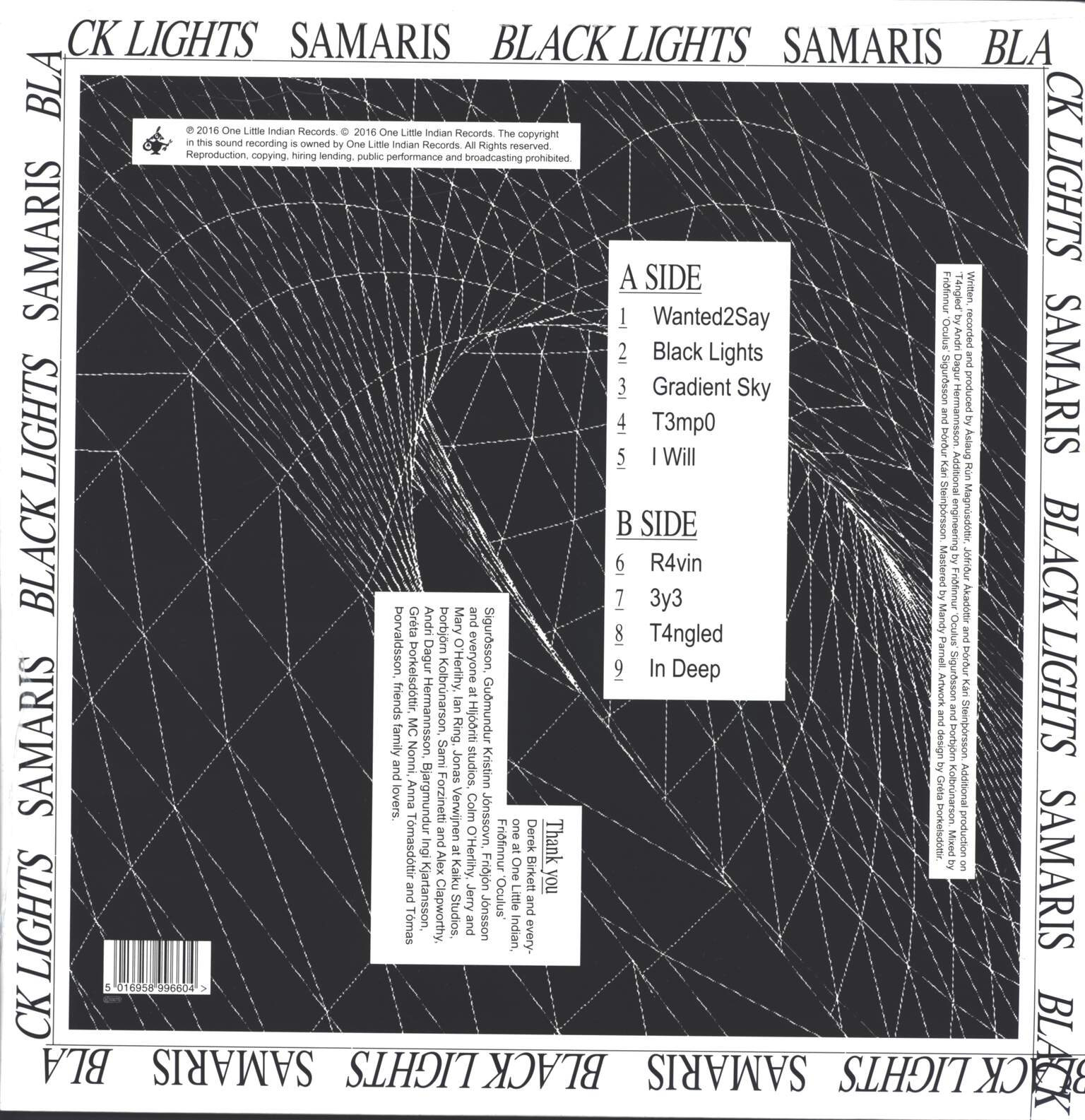 Samaris: Black Lights, LP (Vinyl)