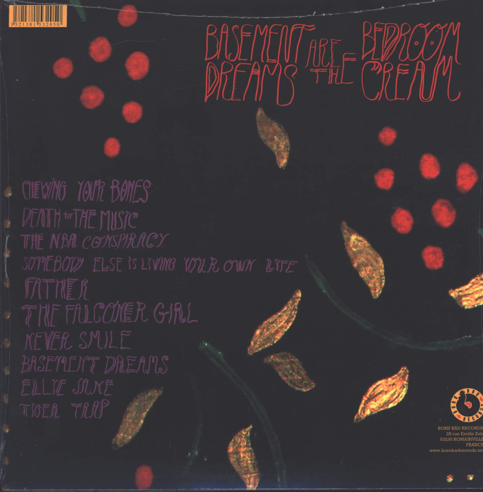 Marietta: Basement Dreams Are The Bedroom Cream, LP (Vinyl)