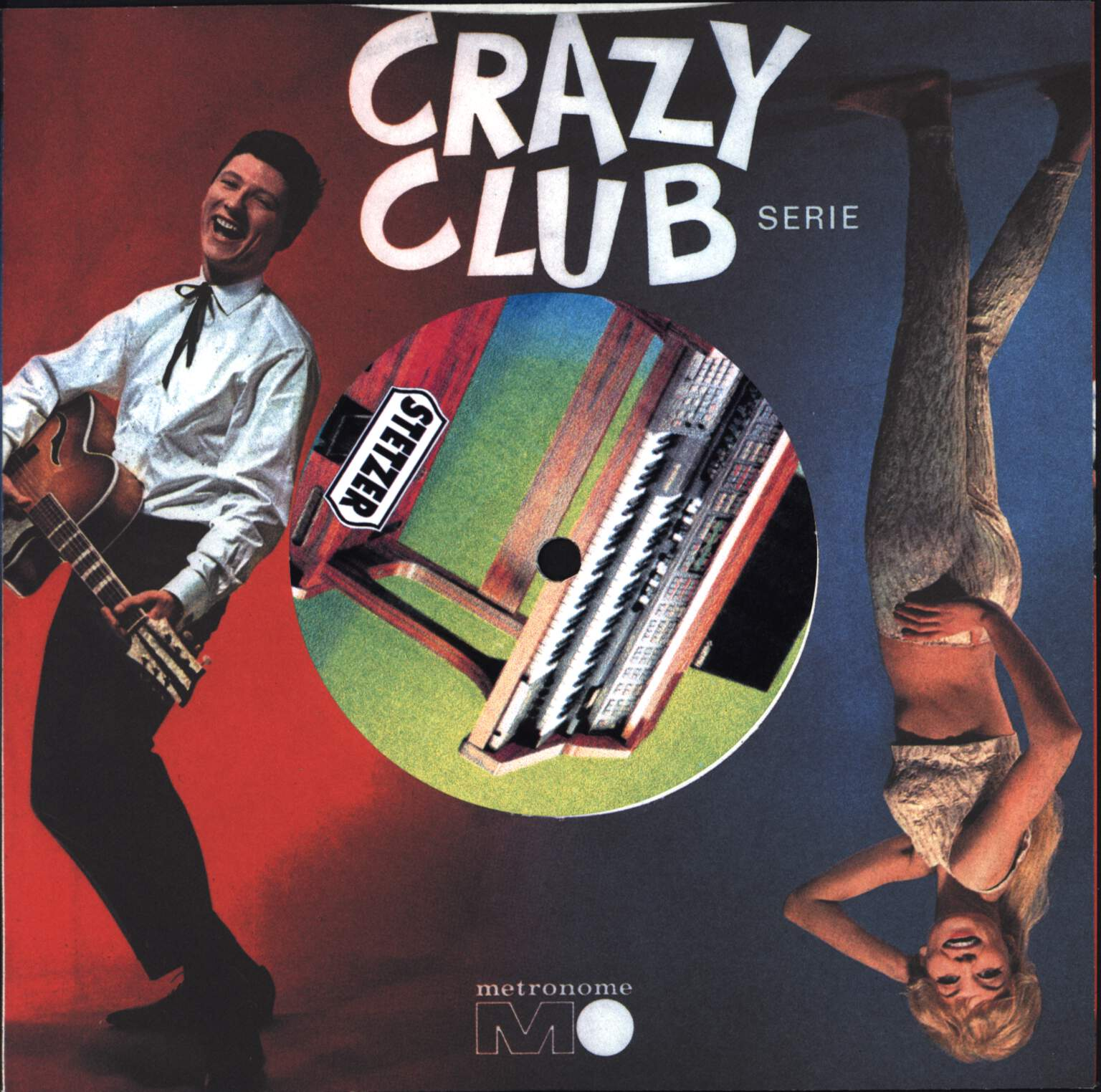 "Harald Sack Ziegler: Crazy Club Serie, 7"" Single (Vinyl)"