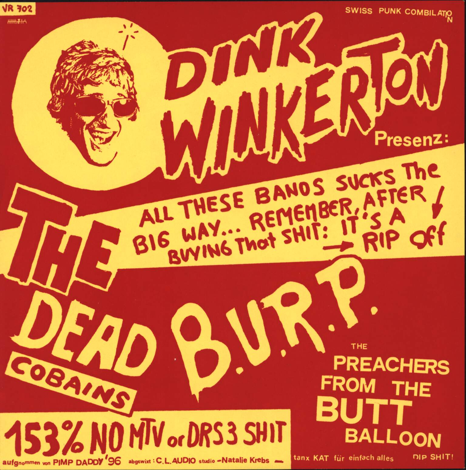 "Various: Dink Winkerton Presenz, 7"" Single (Vinyl)"