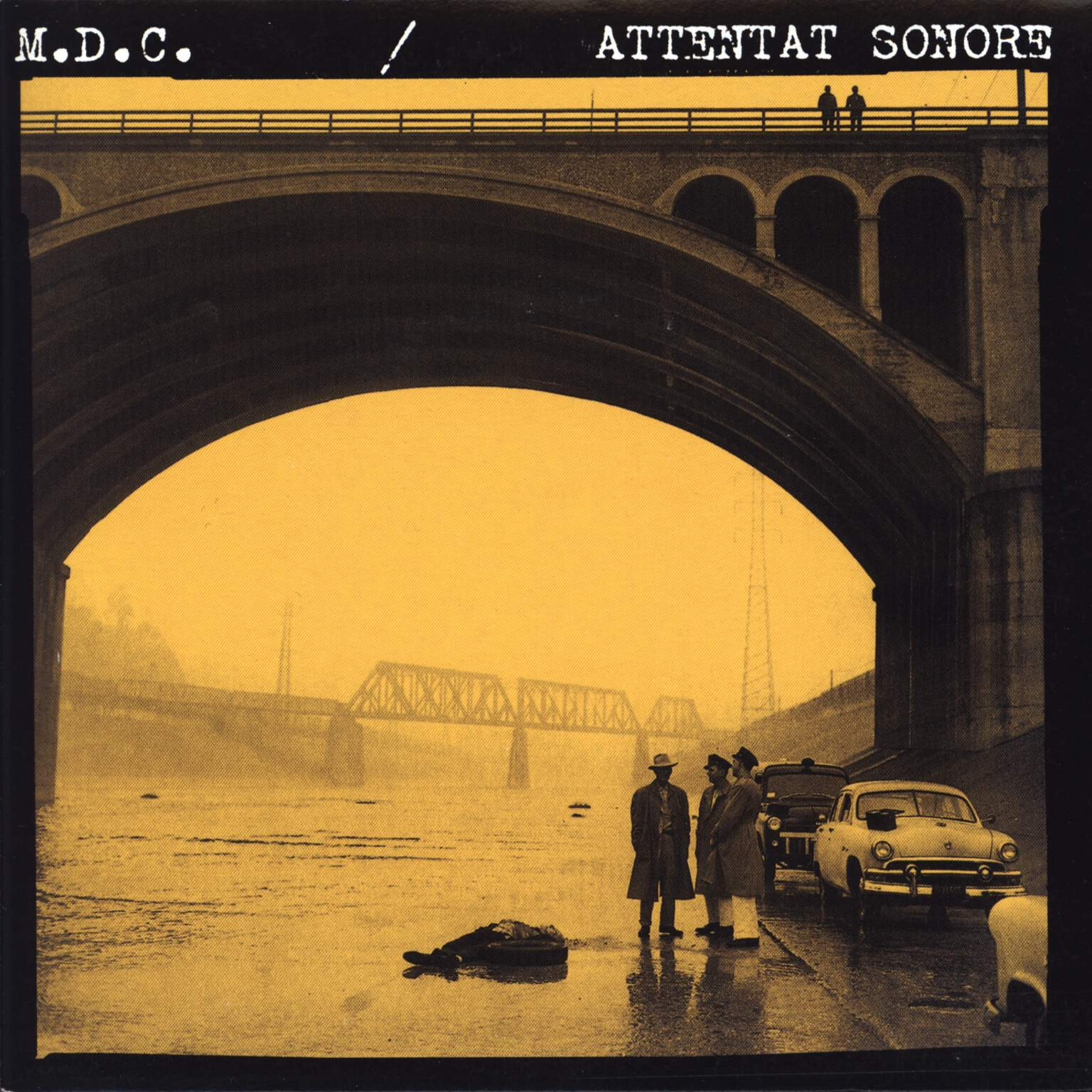 "MDC: M.D.C. / Attentat Sonore, 7"" Single (Vinyl)"