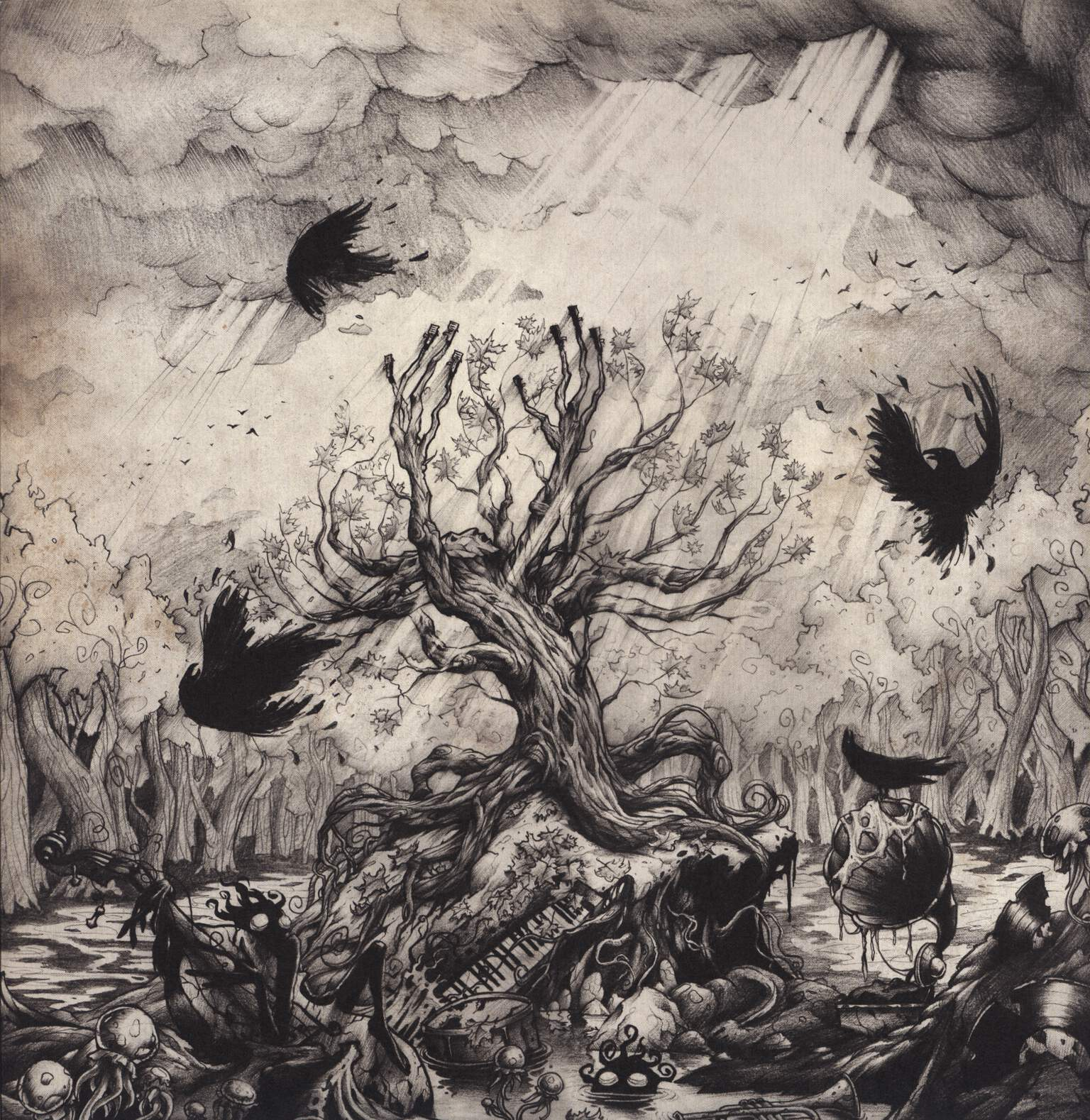 Long Arm: The Branches, LP (Vinyl)