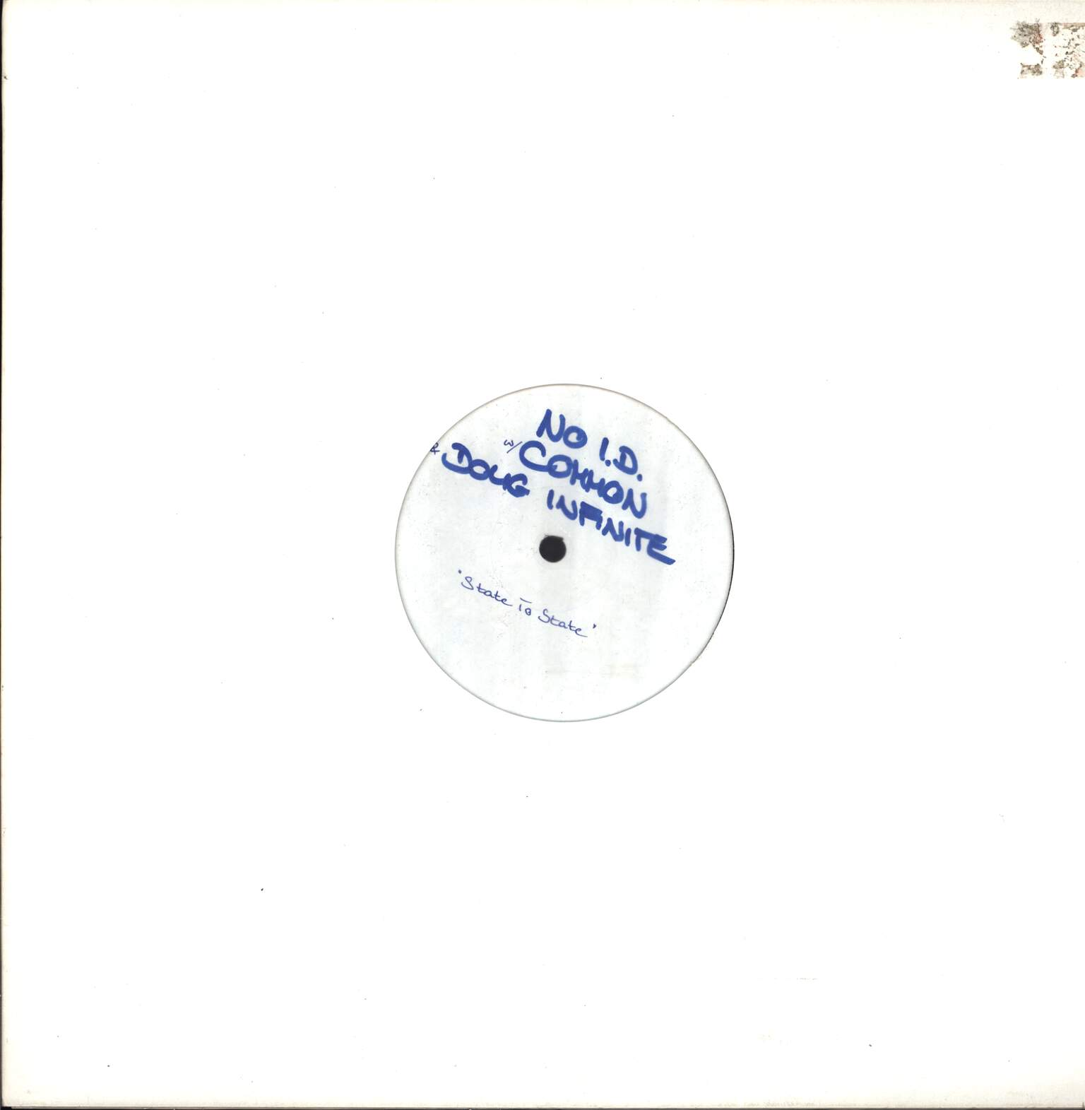"No I.D.: State To State / Mega Live (That's The Joint), 12"" Maxi Single (Vinyl)"