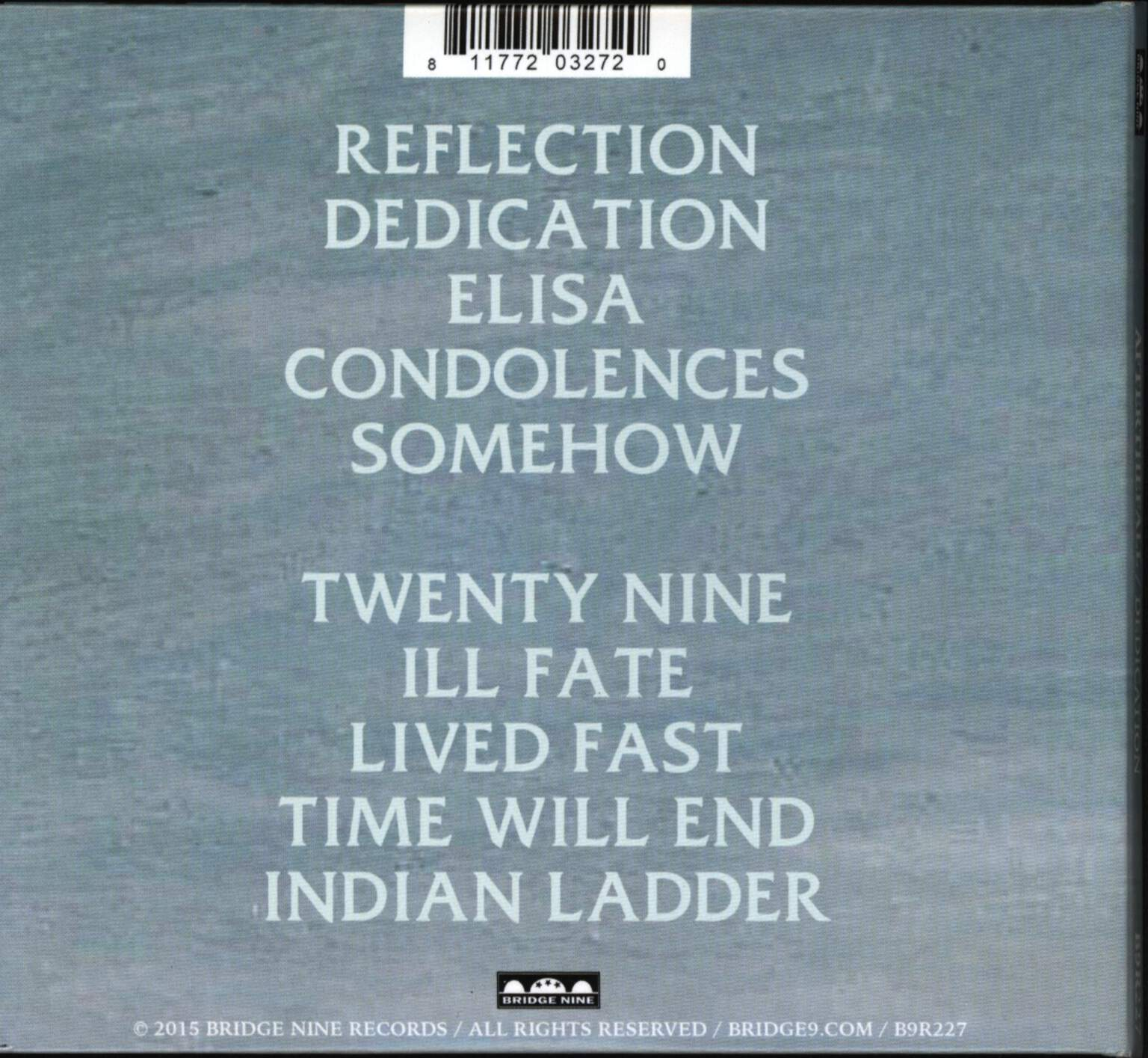 After The Fall: Dedication, CD