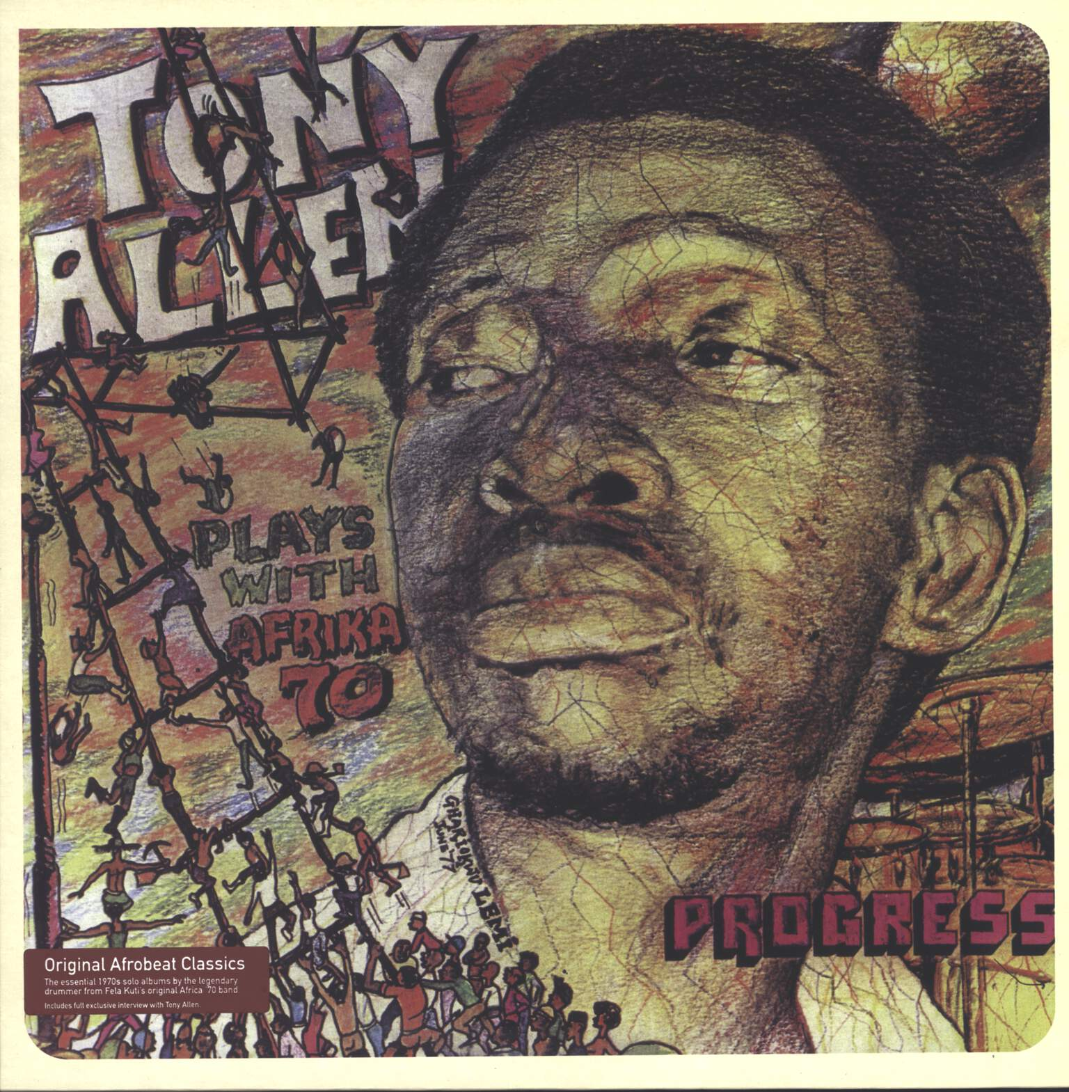 Tony Allen: Progress, LP (Vinyl)