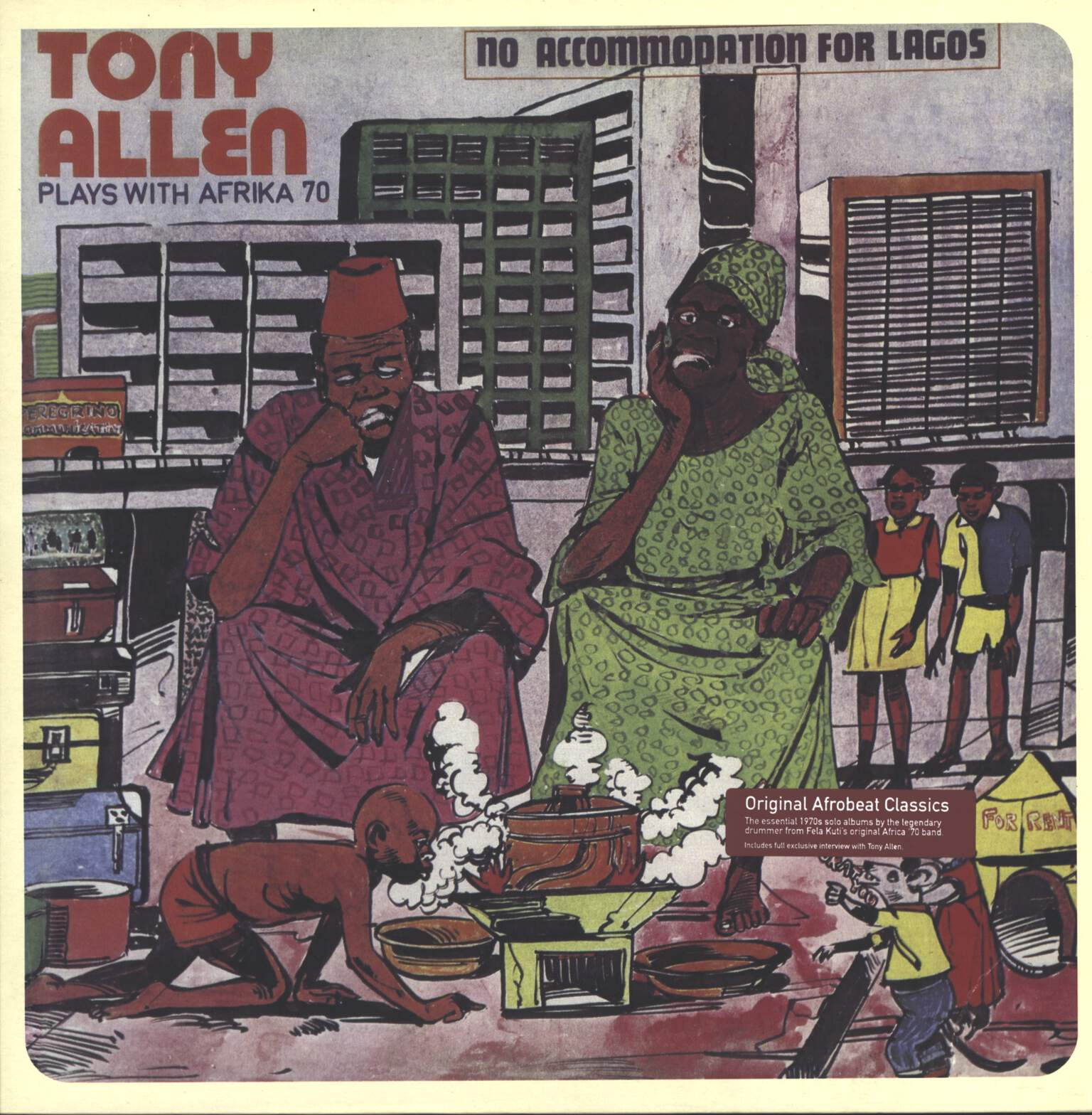 Tony Allen: No Accommodation For Lagos, LP (Vinyl)