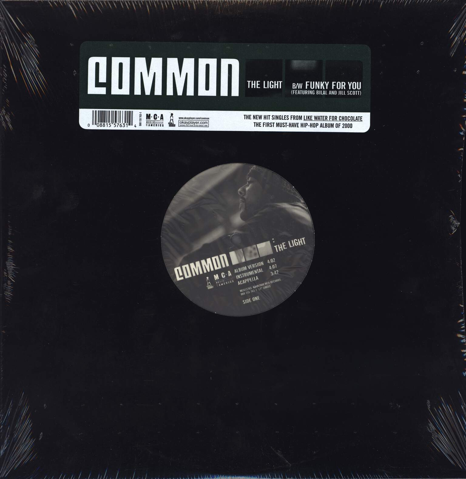 "Common: The Light / Funky For You, 12"" Maxi Single (Vinyl)"