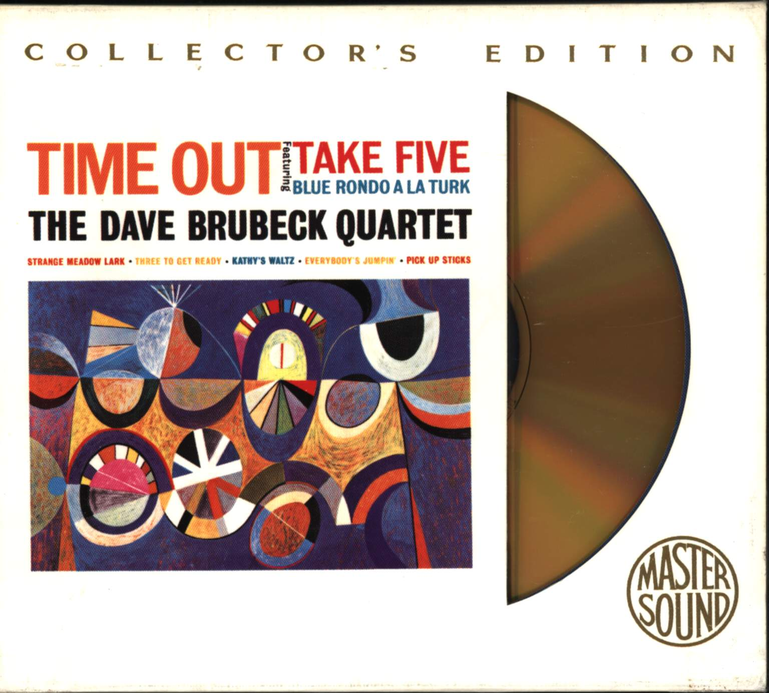 The Dave Brubeck Quartet: Time Out, CD