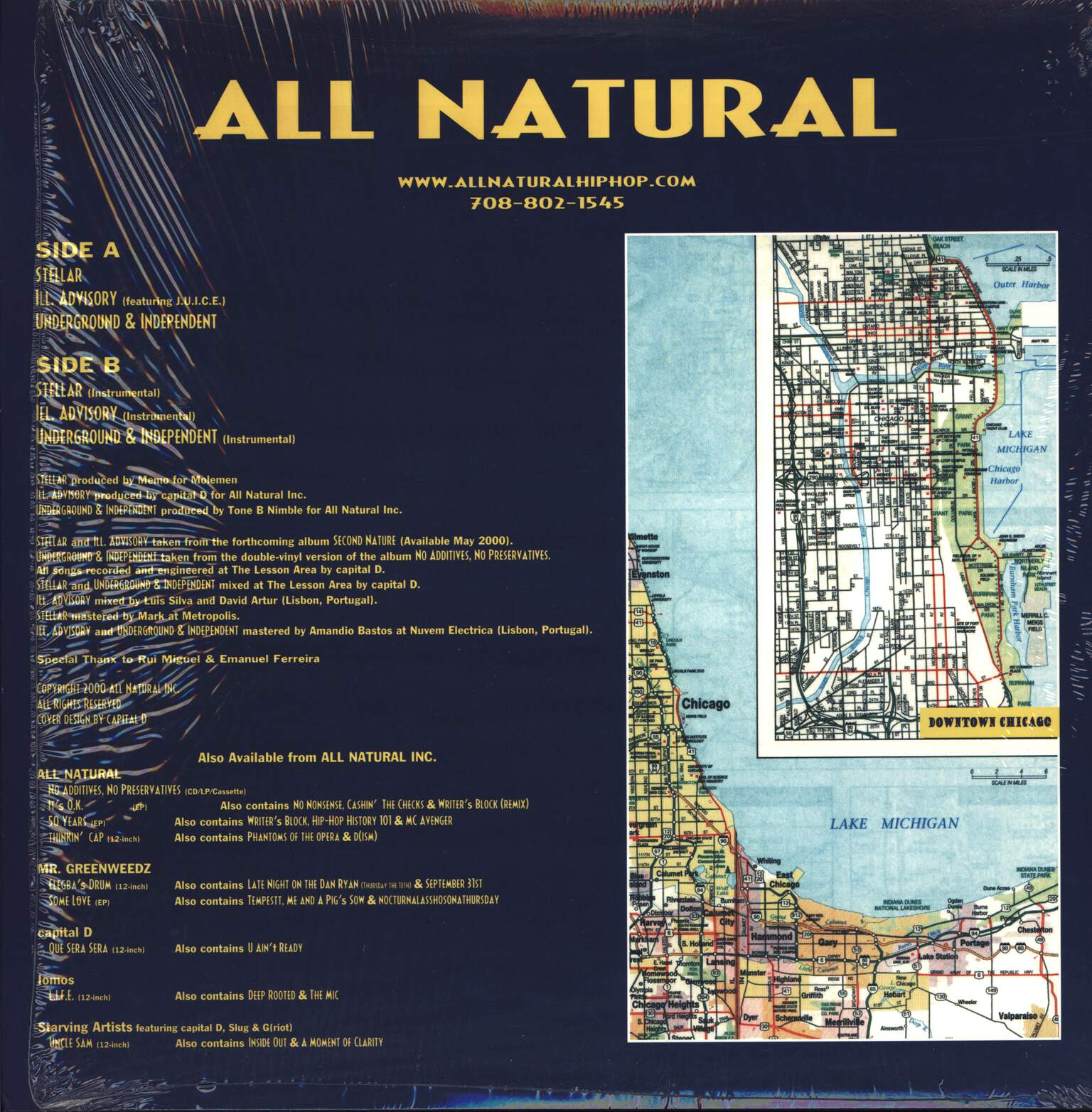"All Natural: Stellar, 12"" Maxi Single (Vinyl)"