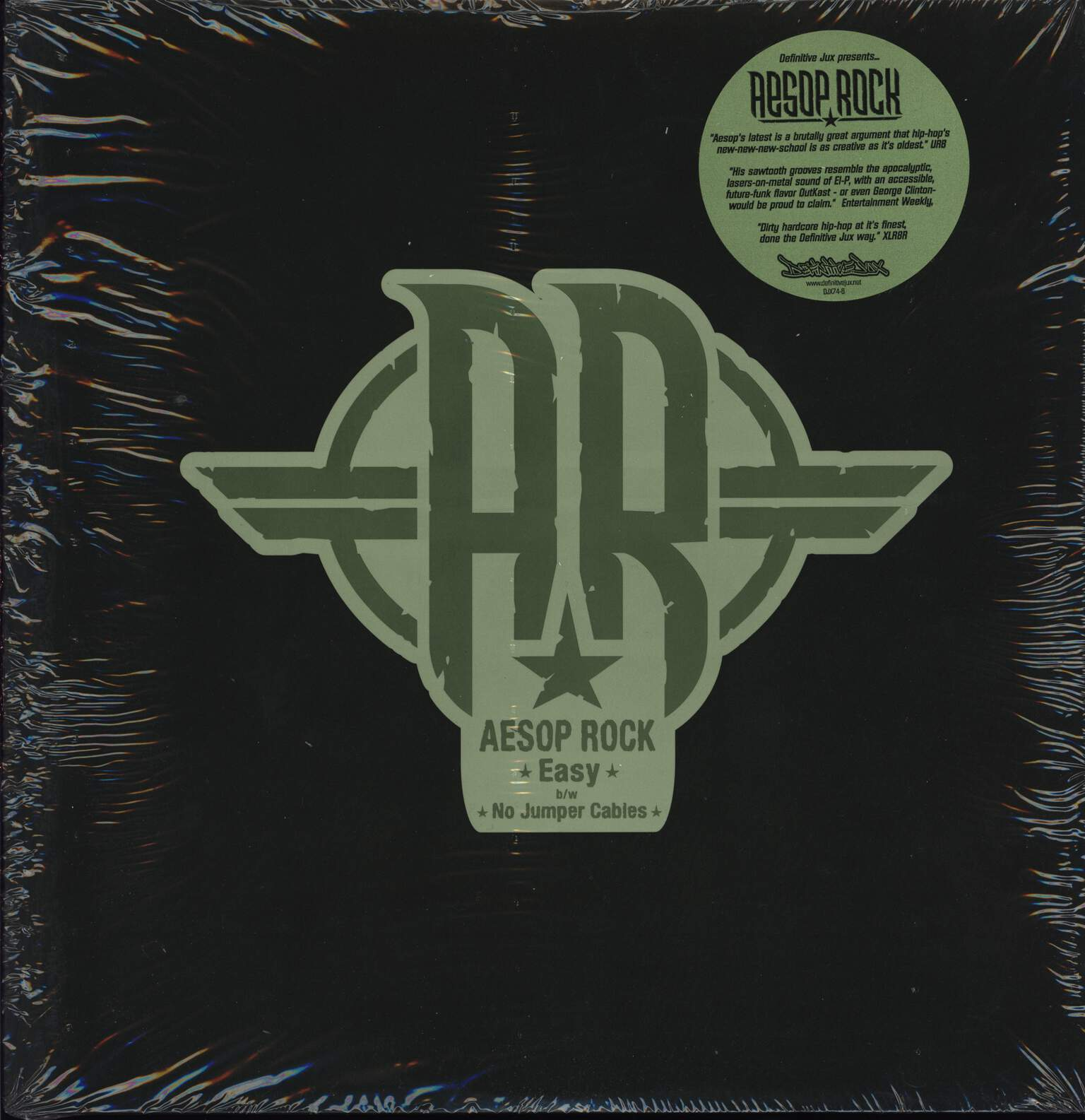 "Aesop Rock: Easy / No Jumper Cables, 12"" Maxi Single (Vinyl)"