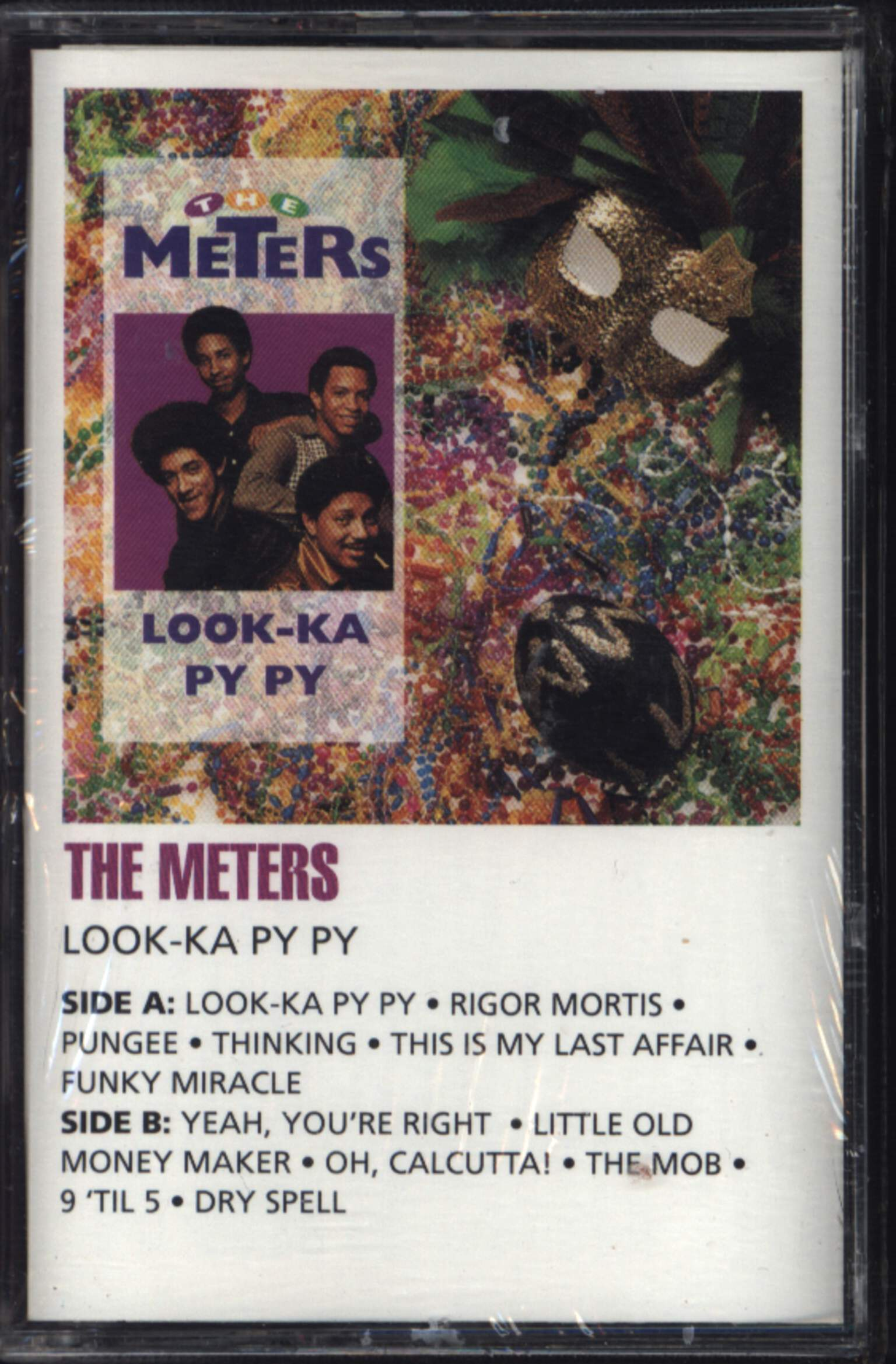 The Meters: Look-Ka Py Py, Compact Cassette