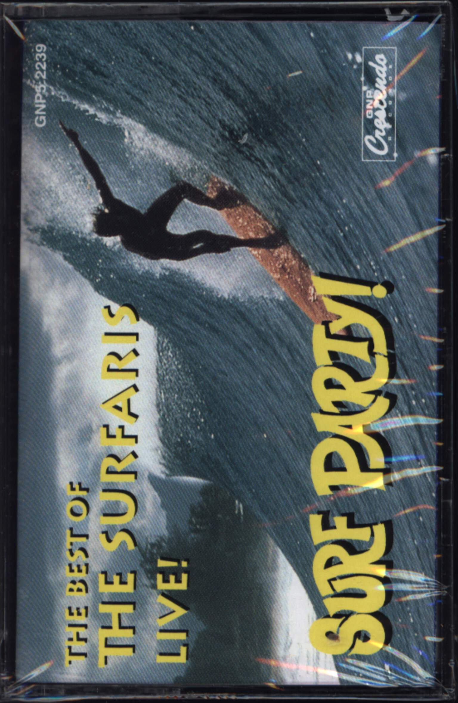 The Surfaris: The Best Of The Surfaris Live! Surf Party!, Compact Cassette