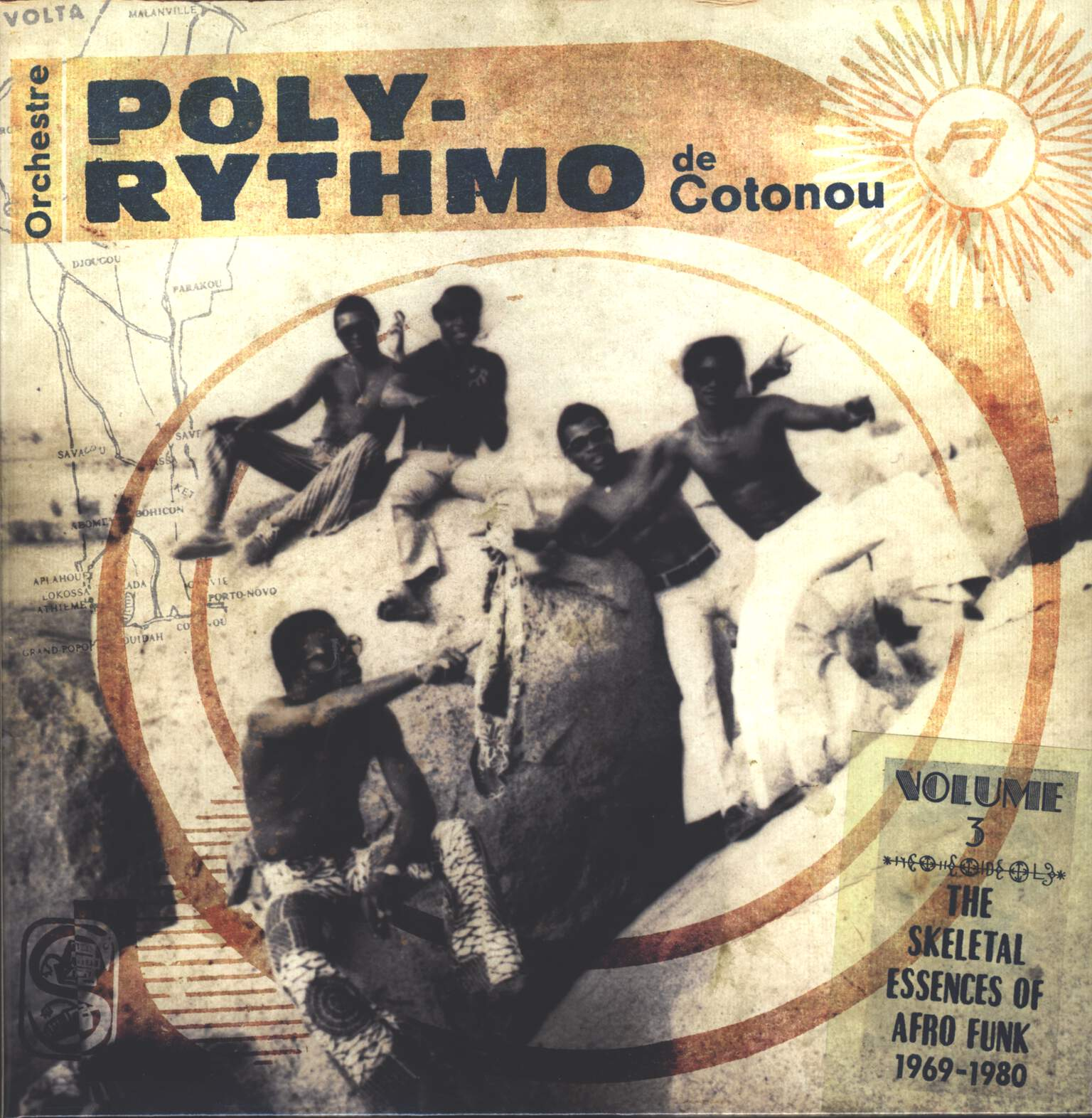 T.P. Orchestre Poly-Rythmo: The Skeletal Essences Of Afro Funk 1969-1980, LP (Vinyl)