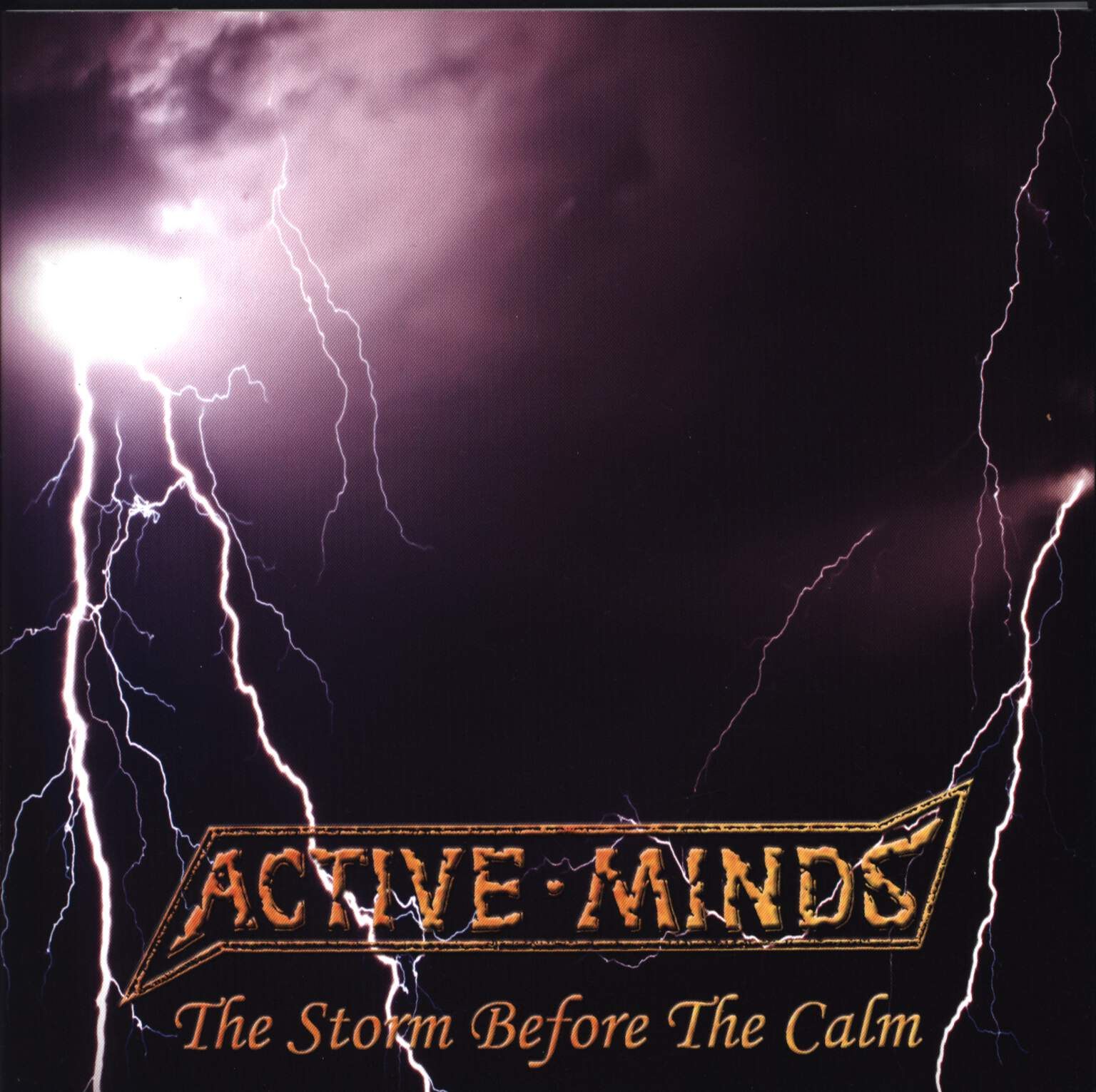 "Active Minds: The Storm Before The Calm, 7"" Single (Vinyl)"