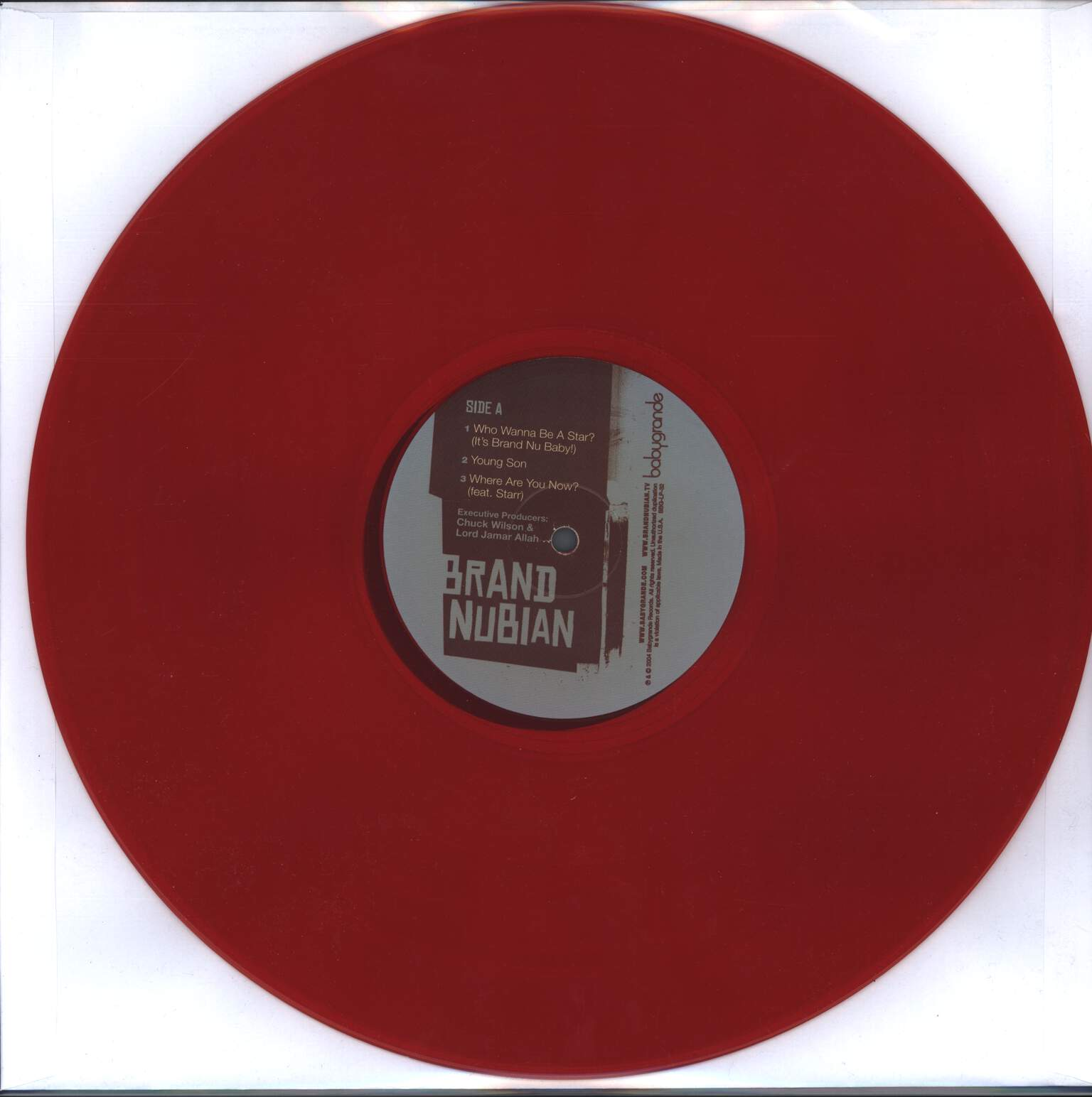 Brand Nubian: Fire In The Hole, LP (Vinyl)