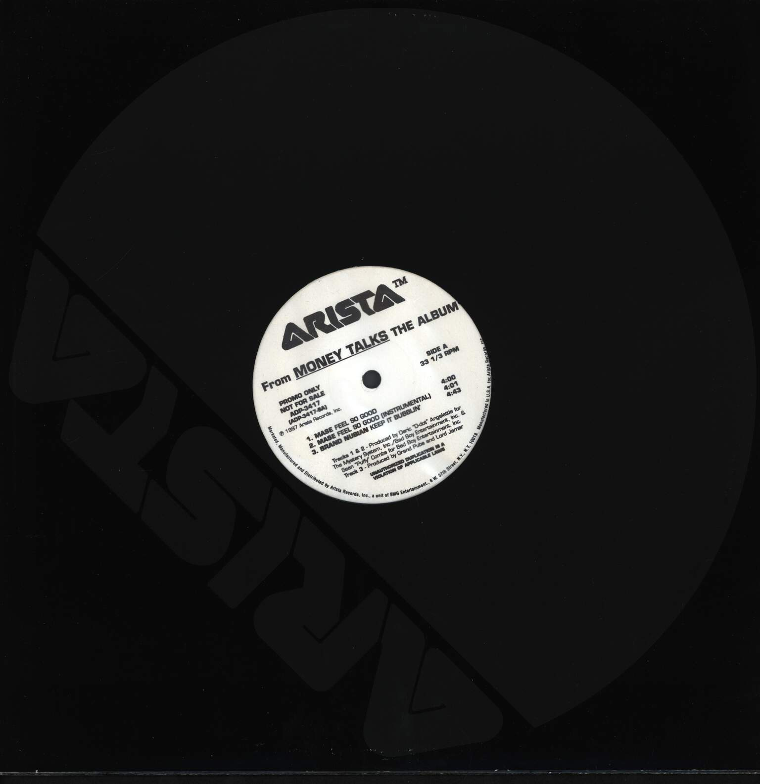 "Various: From Money Talks The Album, 12"" Maxi Single (Vinyl)"