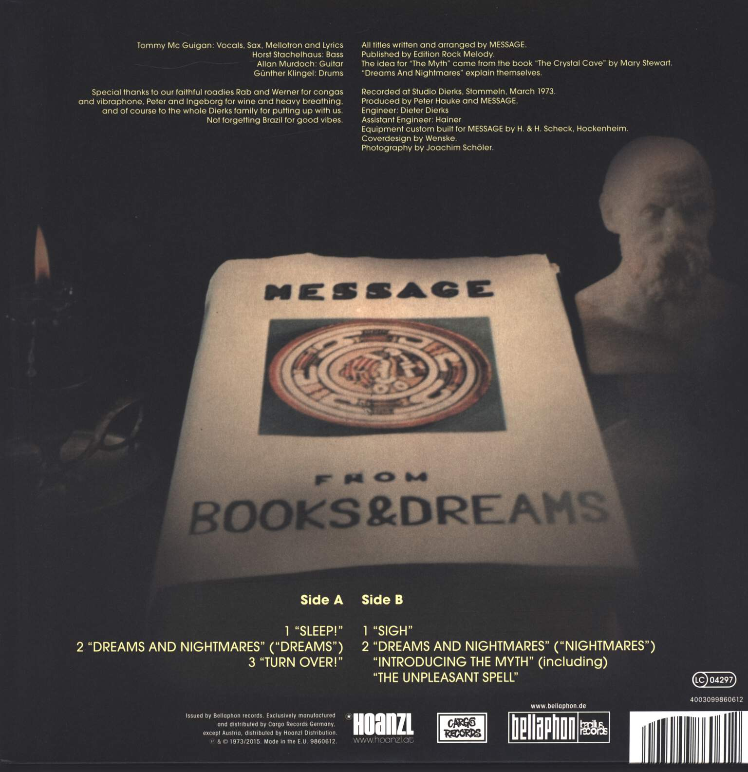 Message: From Books And Dreams, LP (Vinyl)