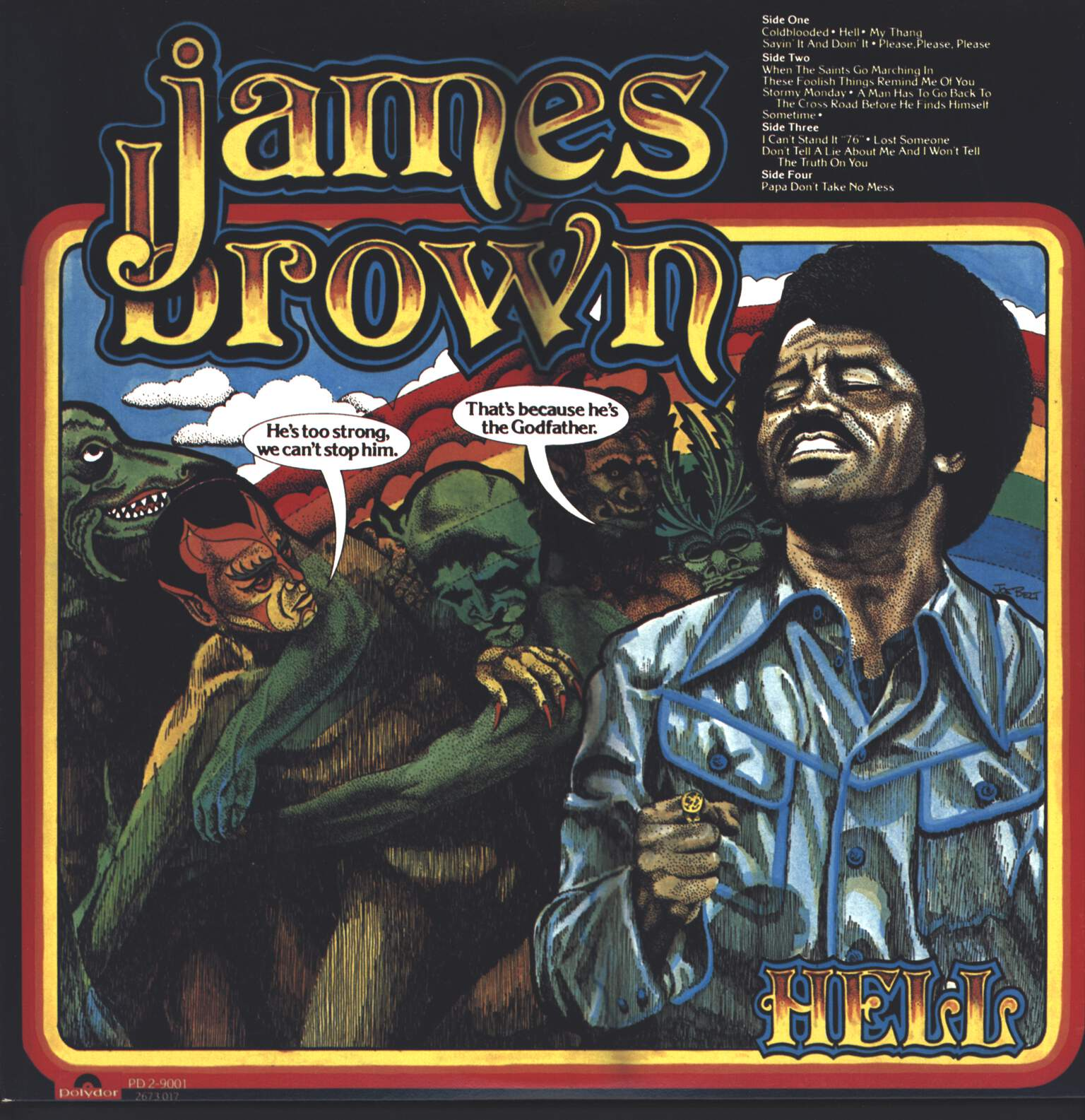 James Brown: Hell, LP (Vinyl)
