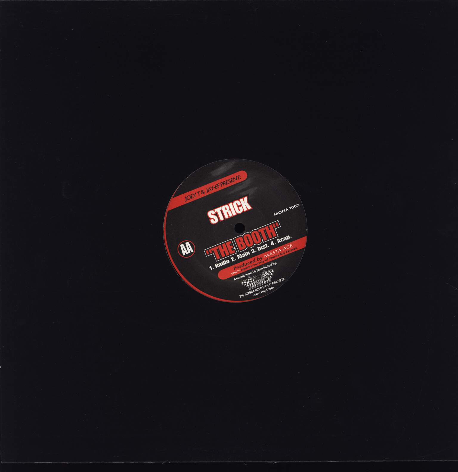 "Masta Ace: Conflict / The Booth, 12"" Maxi Single (Vinyl)"