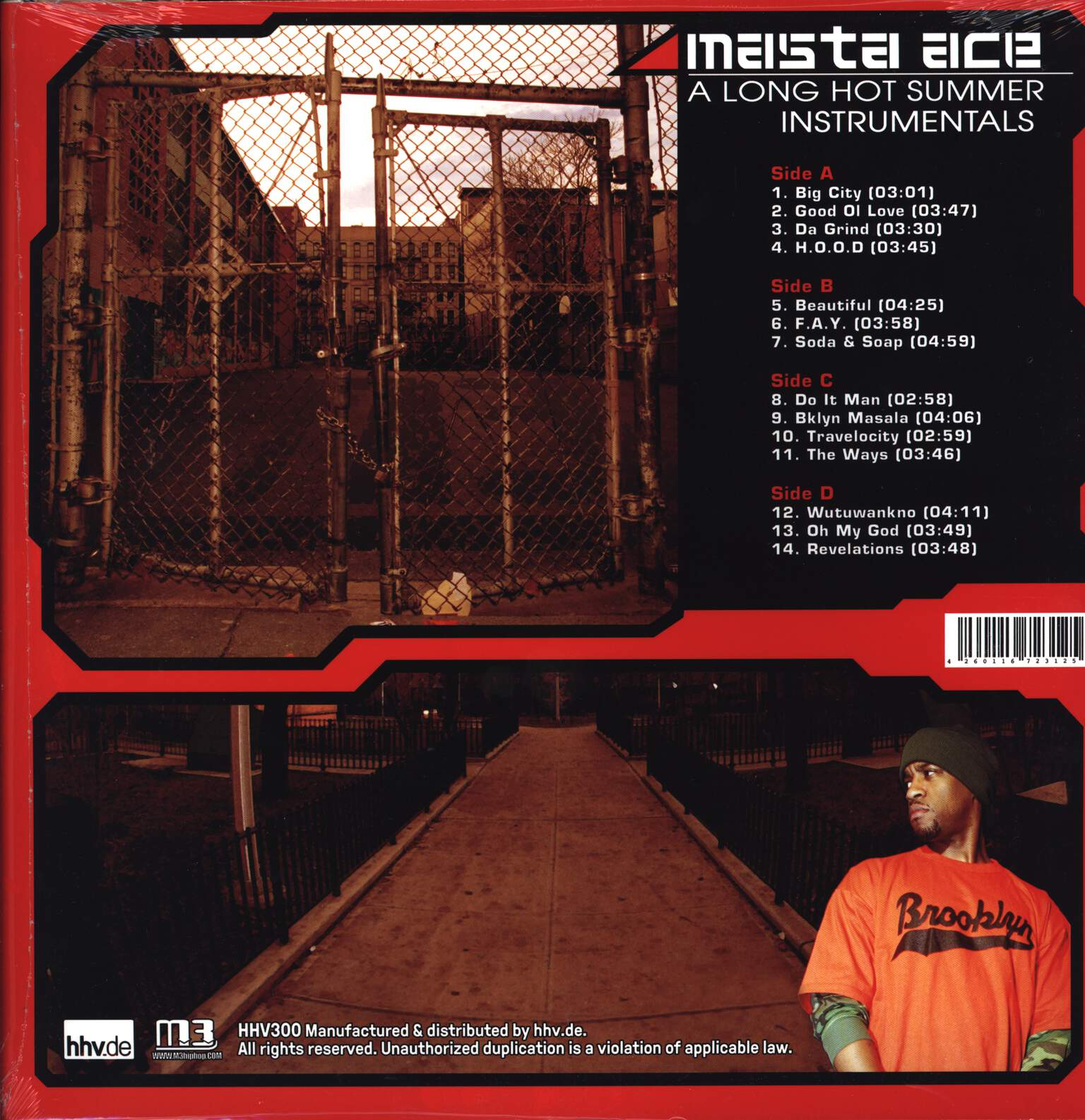 Masta Ace: A Long Hot Summer Instrumentals, LP (Vinyl)