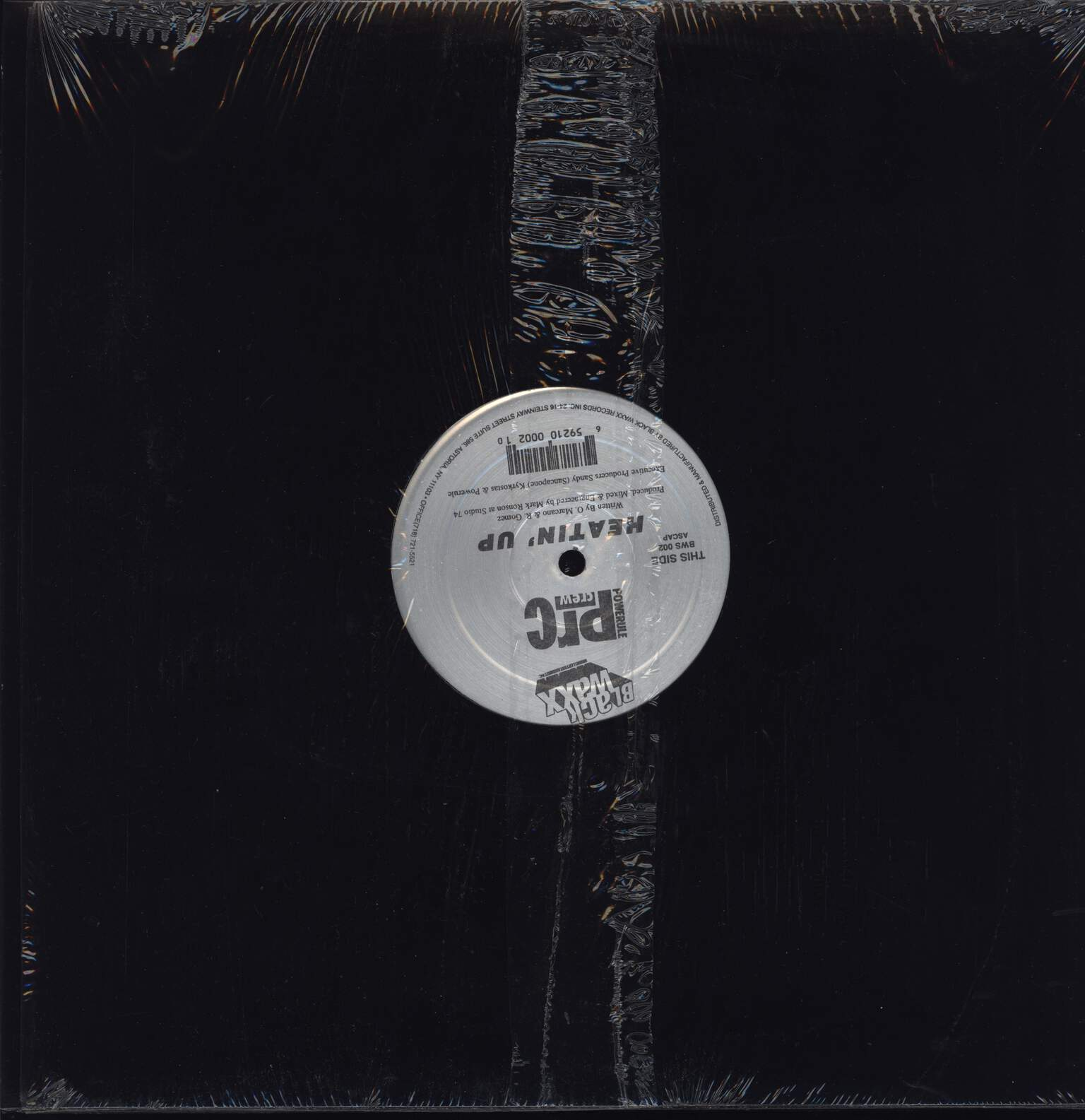 "Powerule: Heatin' Up / P.R.I.S.M., 12"" Maxi Single (Vinyl)"