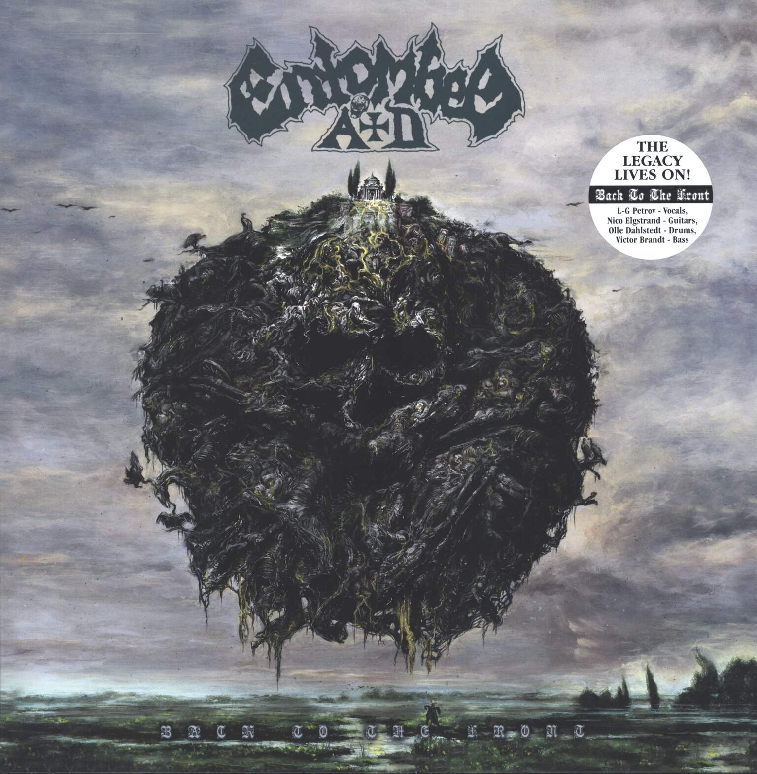 Entombed A.D.: Back To The Front, LP (Vinyl)