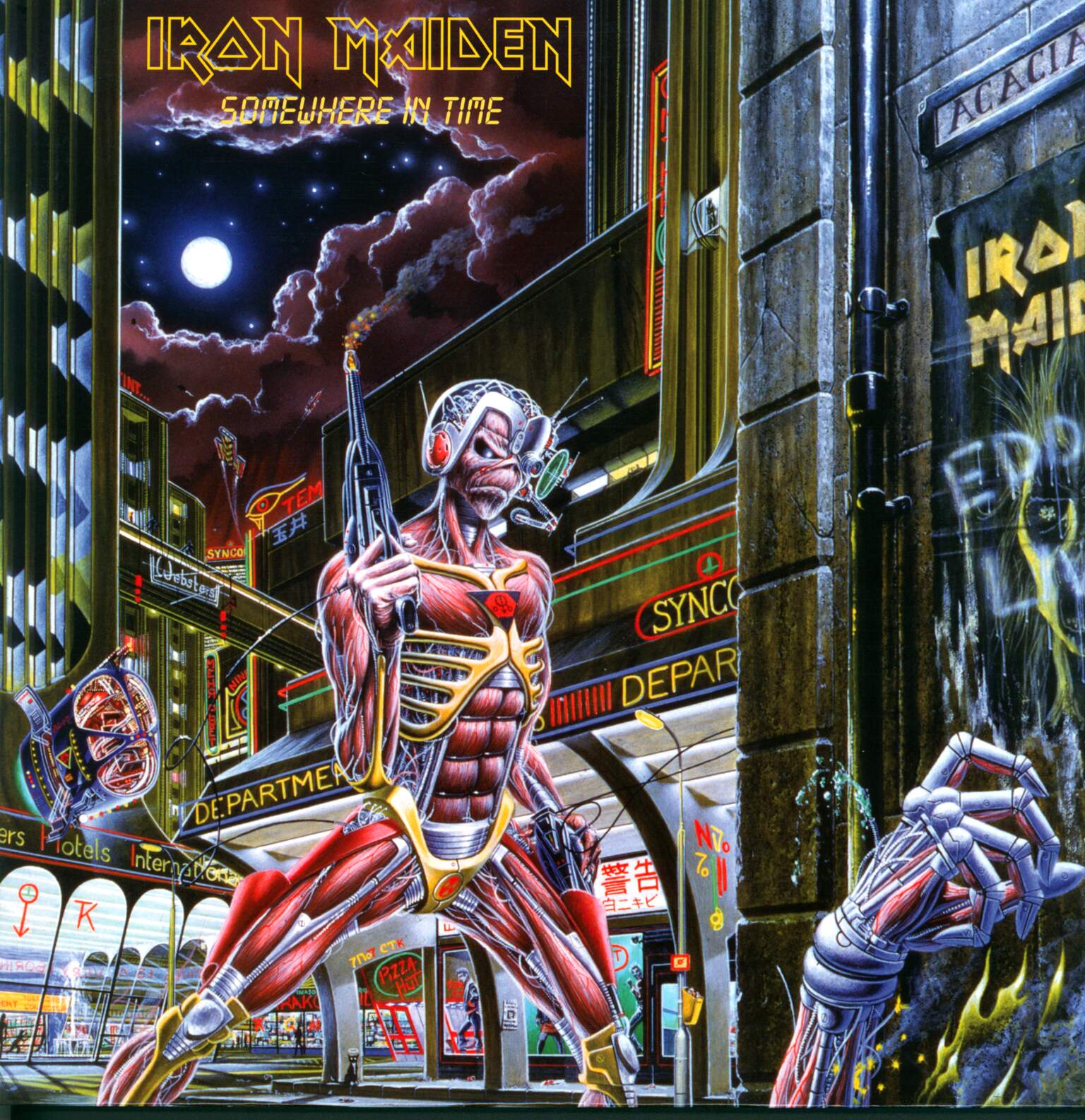 Iron Maiden: Somewhere In Time, CD
