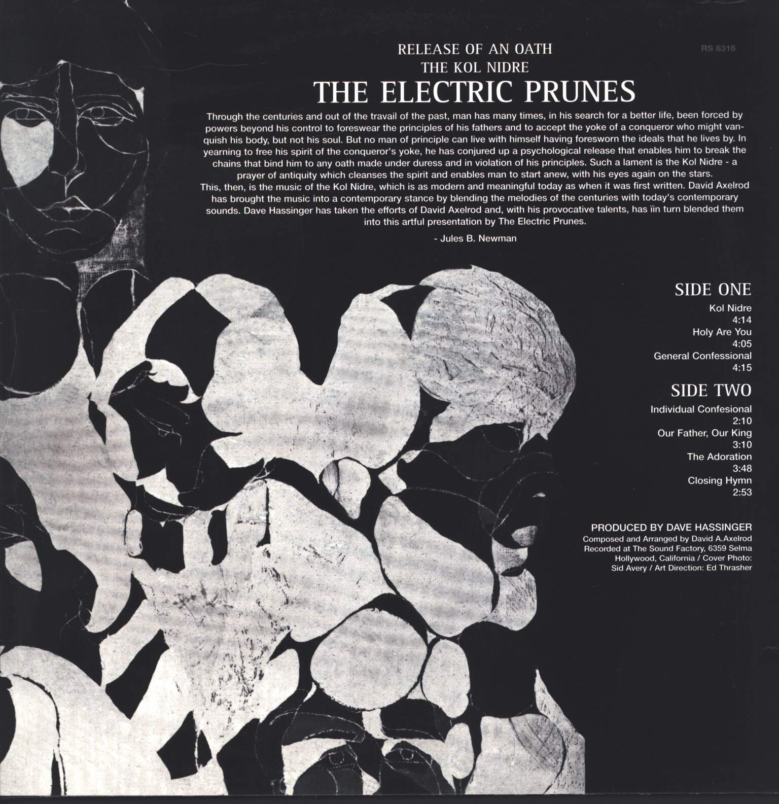 The Electric Prunes: Release Of An Oath, LP (Vinyl)