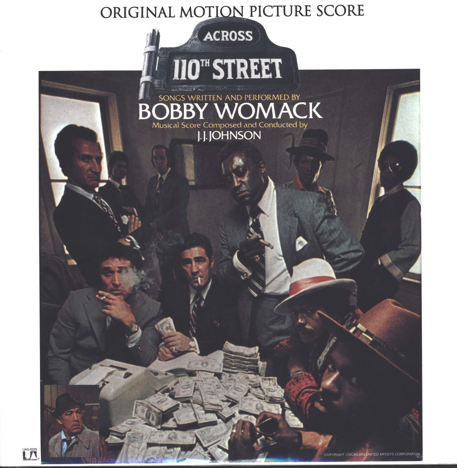 Bobby Womack: Across 110th Street, LP (Vinyl)