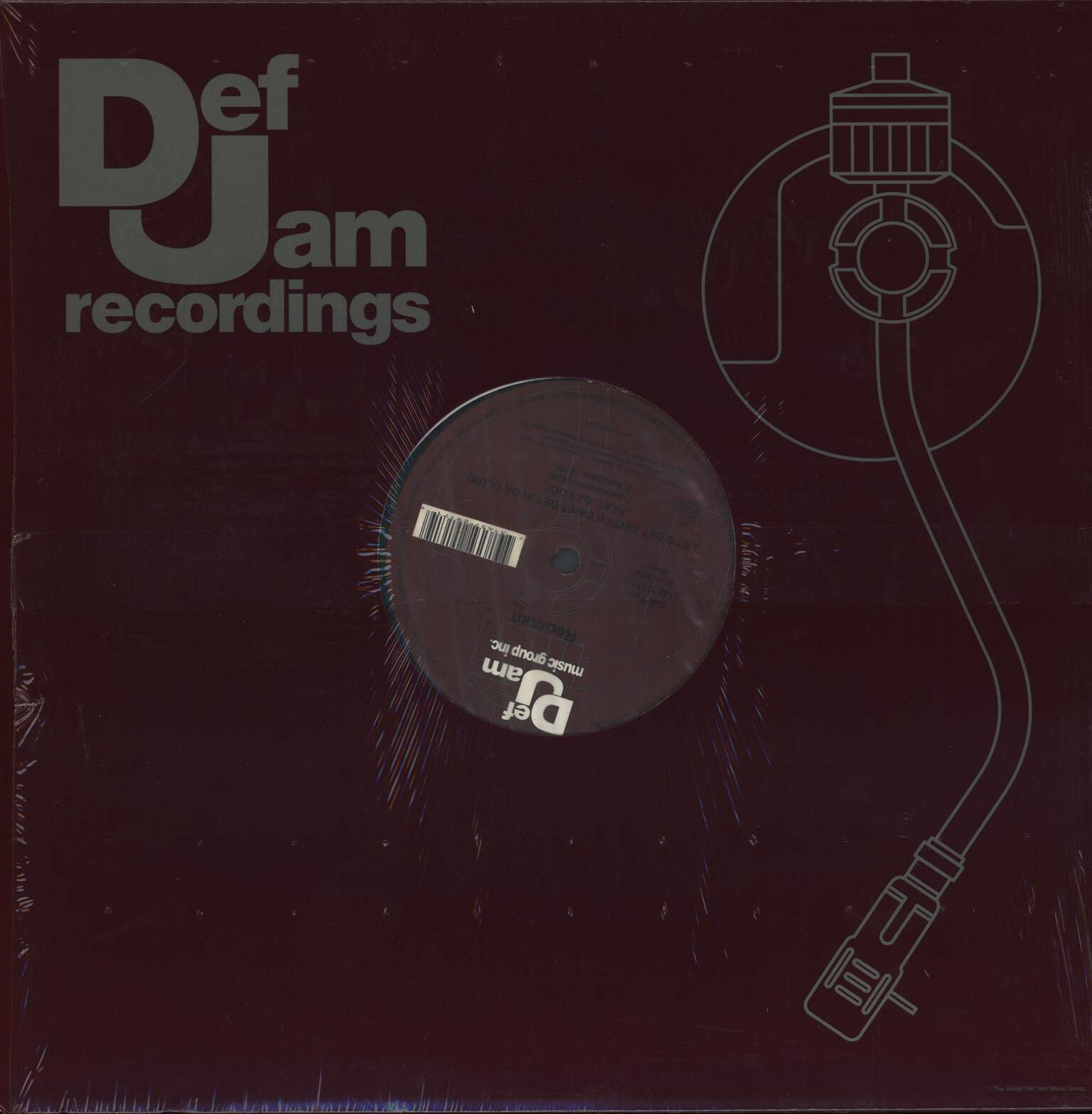 "Redman: Let's Get Dirty (I Can't Get In Da Club), 12"" Maxi Single (Vinyl)"